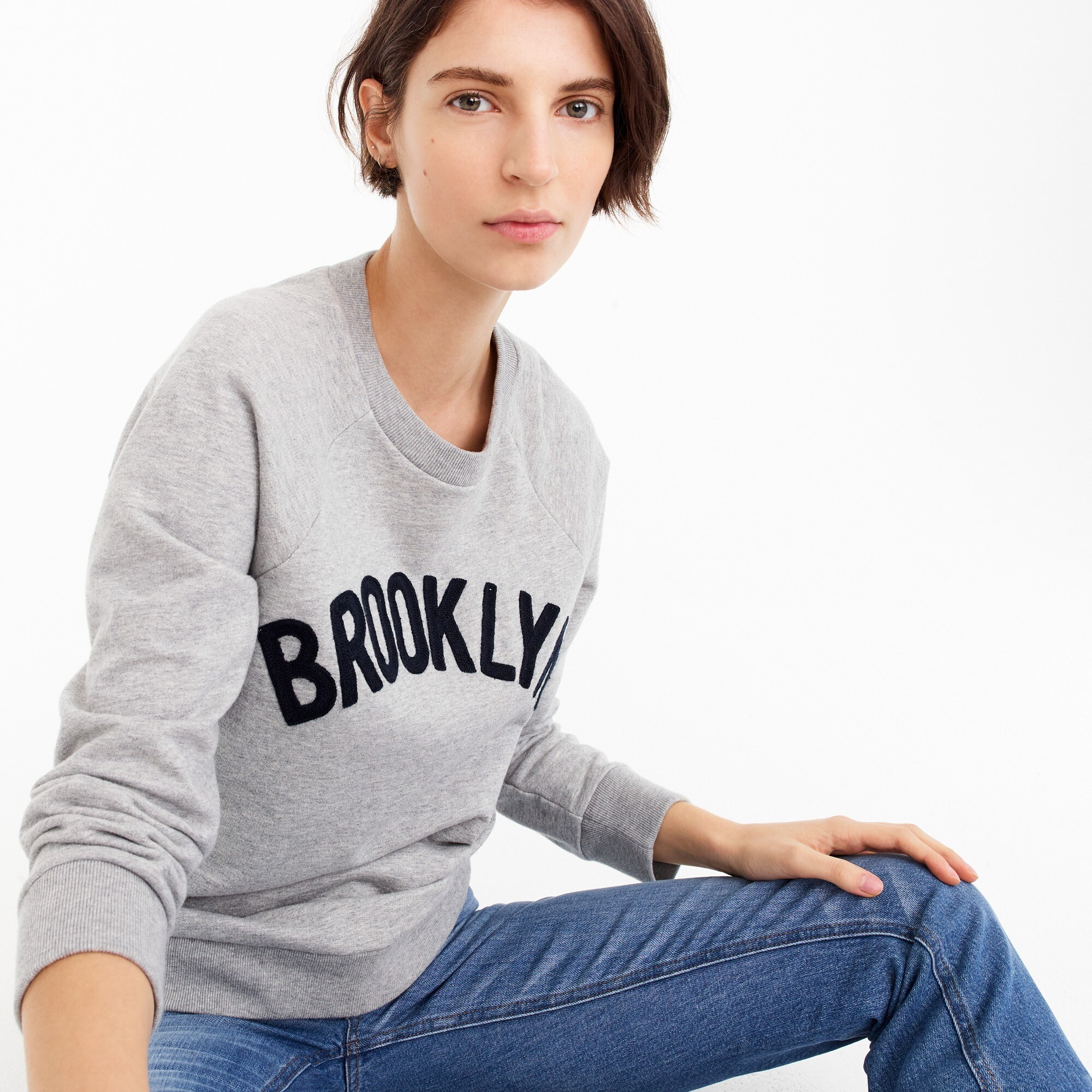 "womens ""Brooklyn"" pullover sweatshirt"