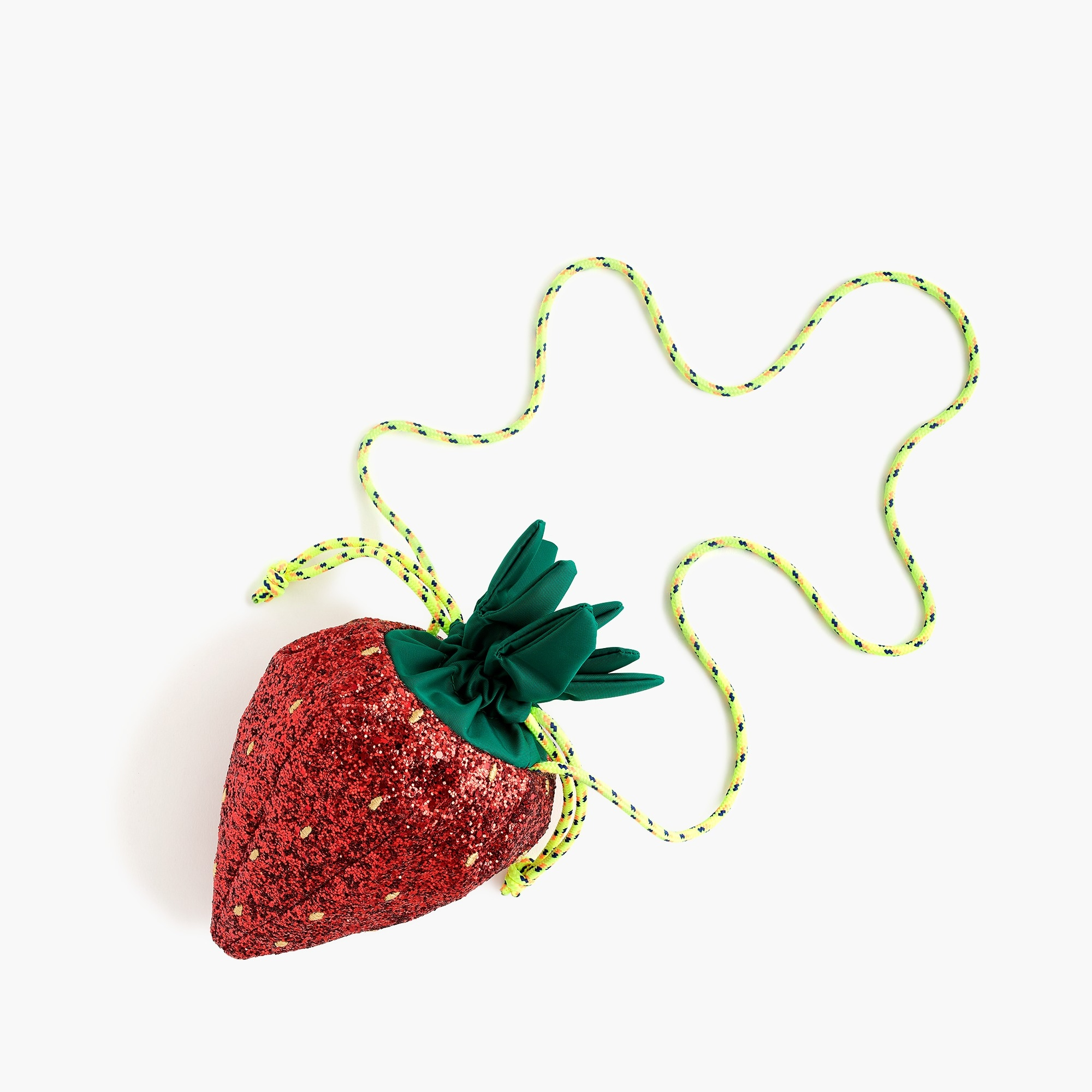 Girls' glitter strawberry bag girl bags c