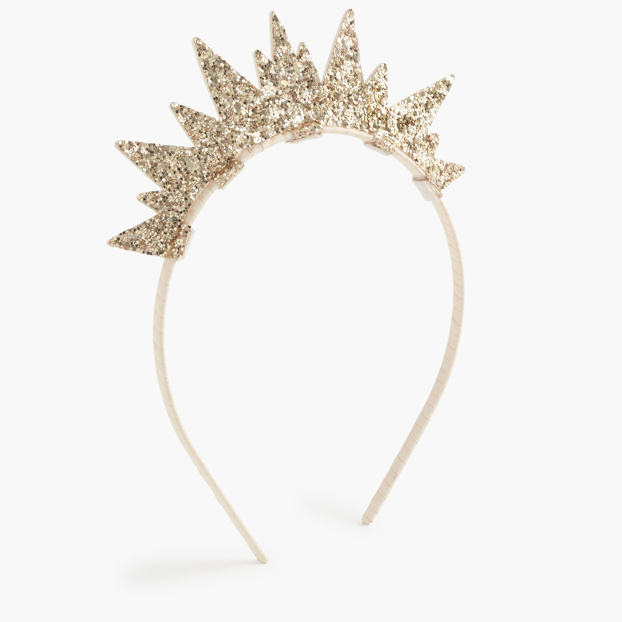 girls Girls' glitter-crown headband