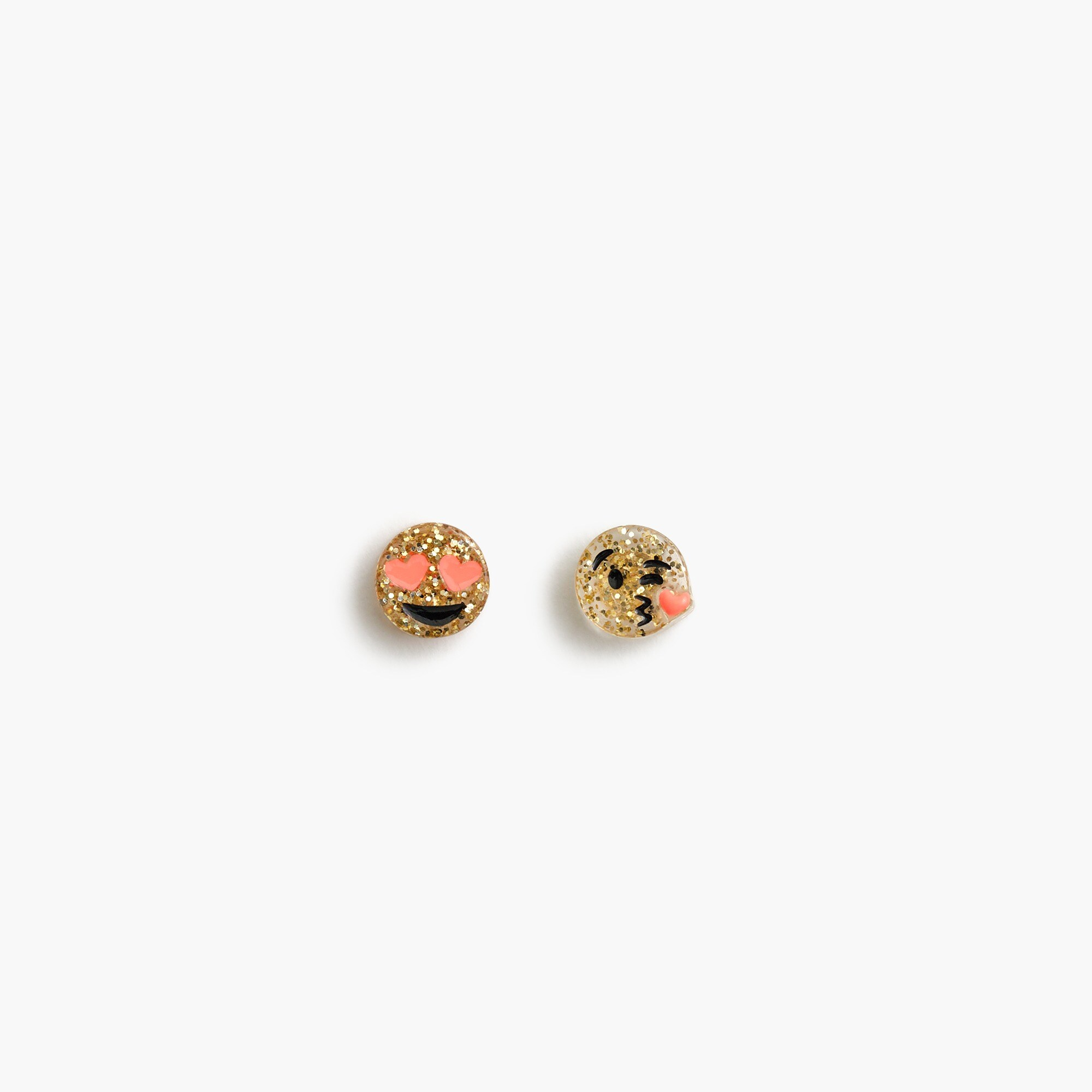 Girls' emoji stud earrings girl jewelry & accessories c