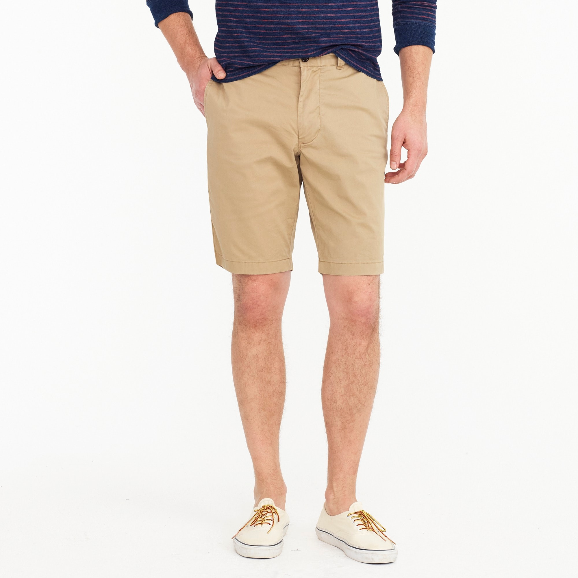 "mens 10.5"" short in garment-dyed cotton chino"