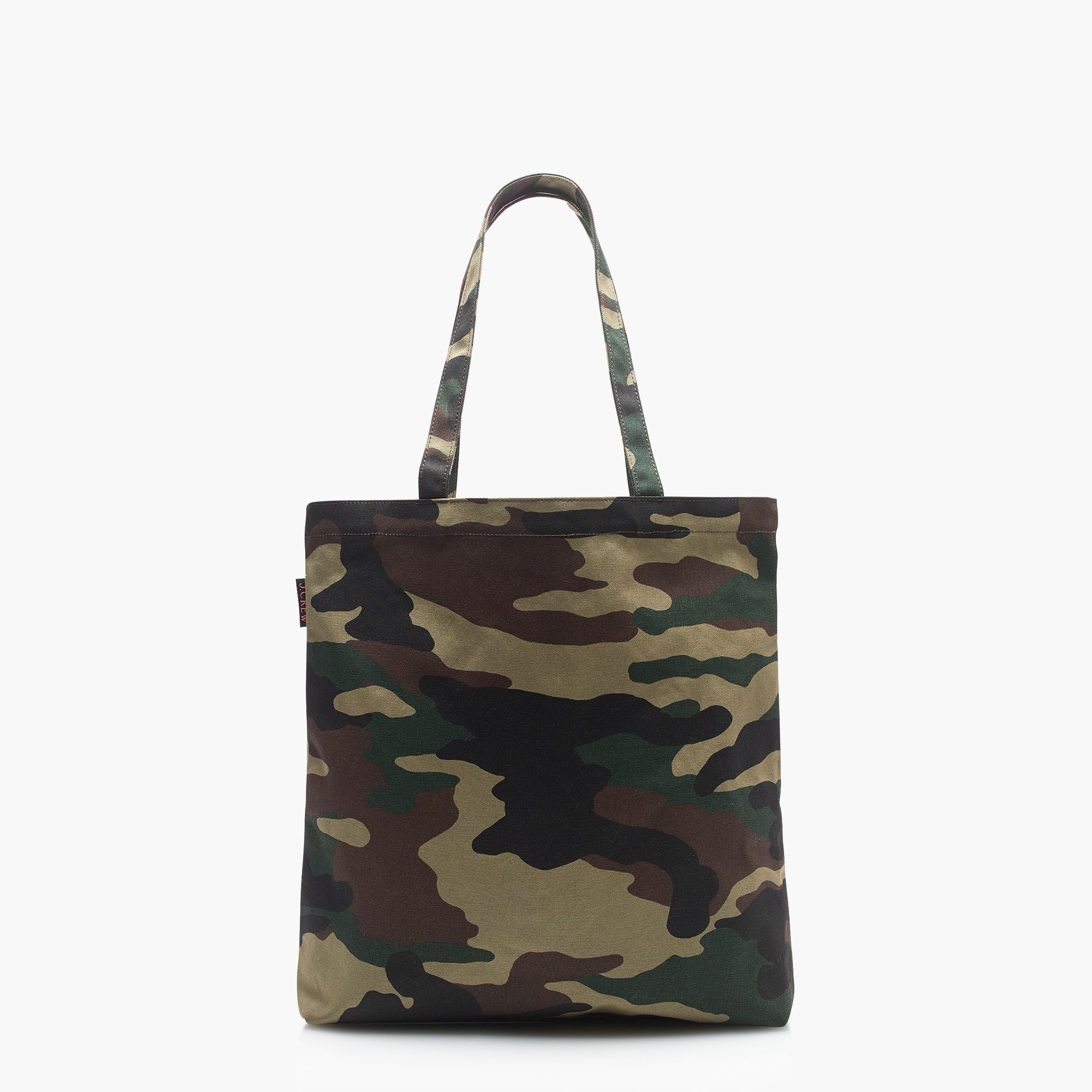 Canvas tote in camo women bags c