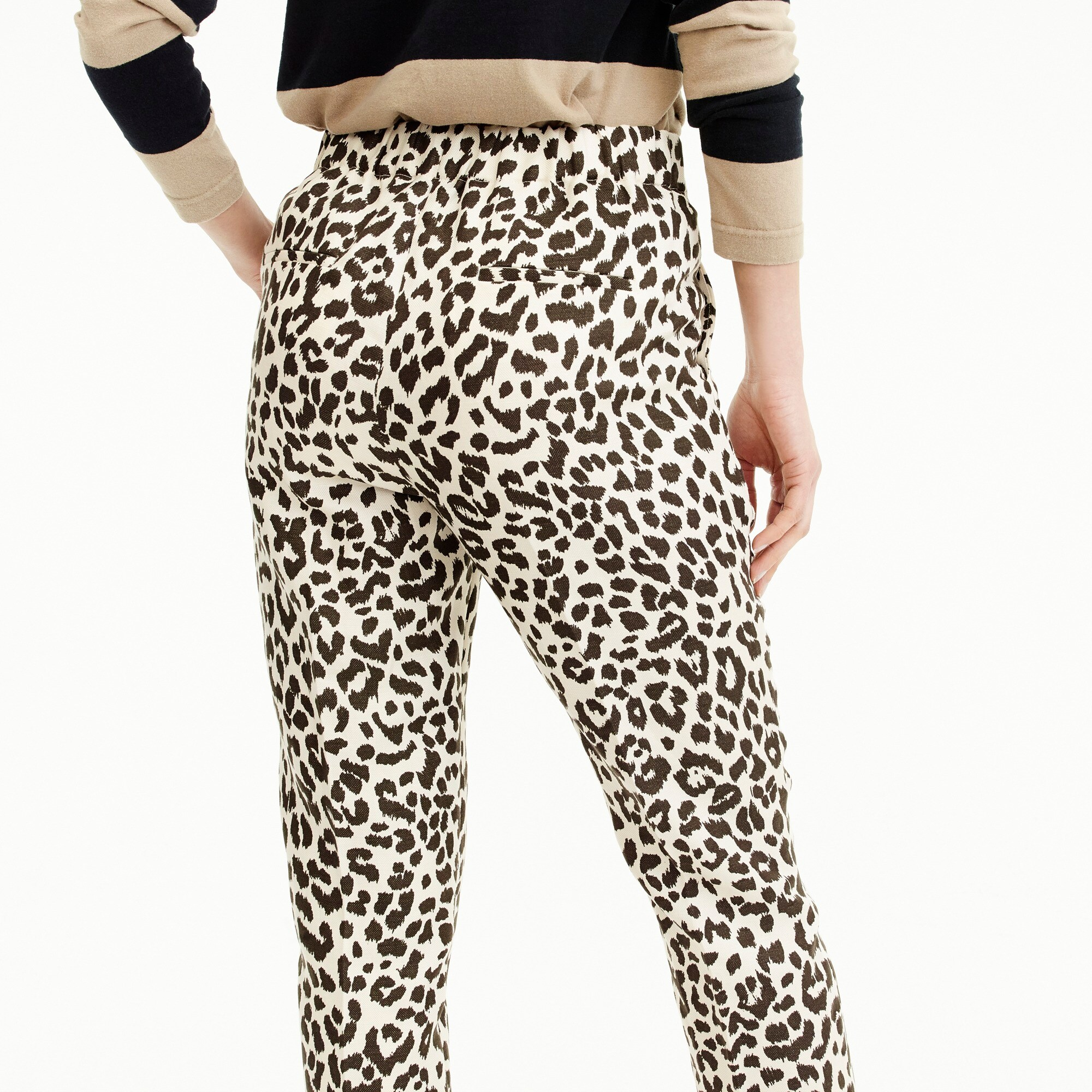 Easy pant in leopard