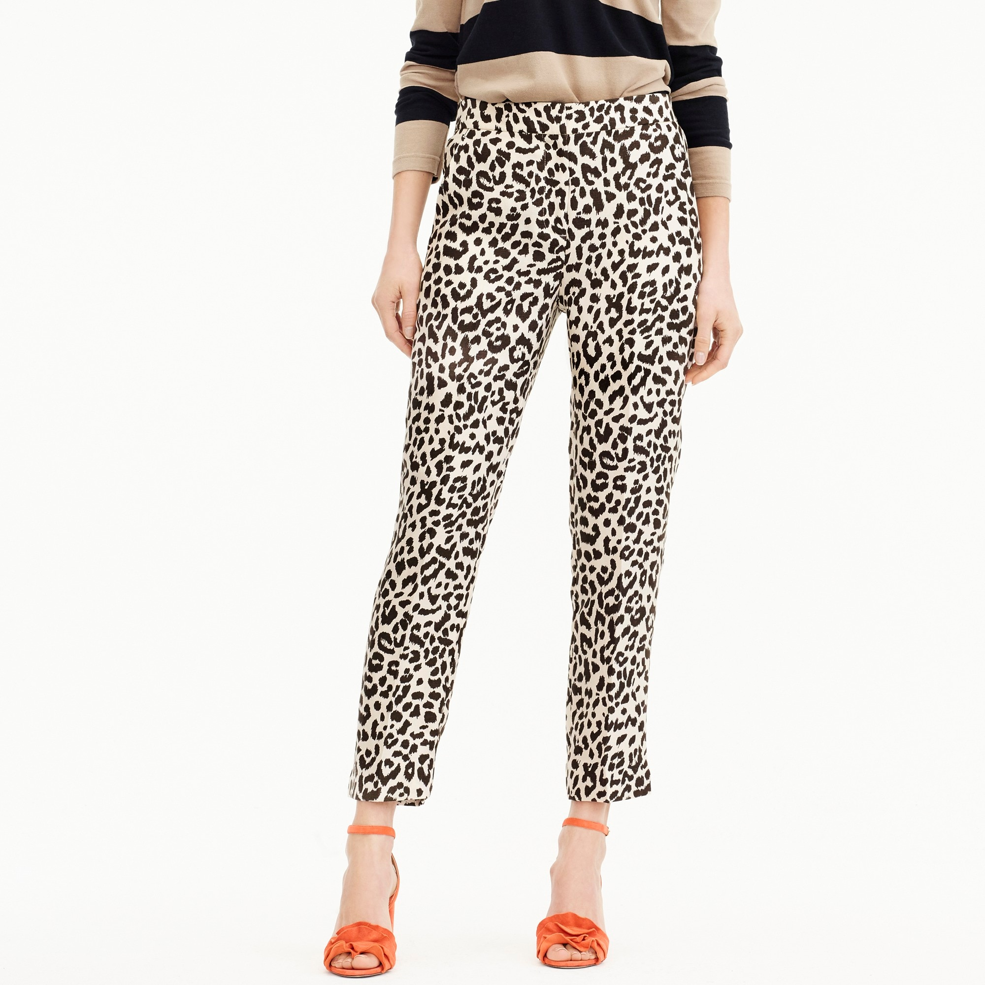 women's easy pant in leopard - women's pants