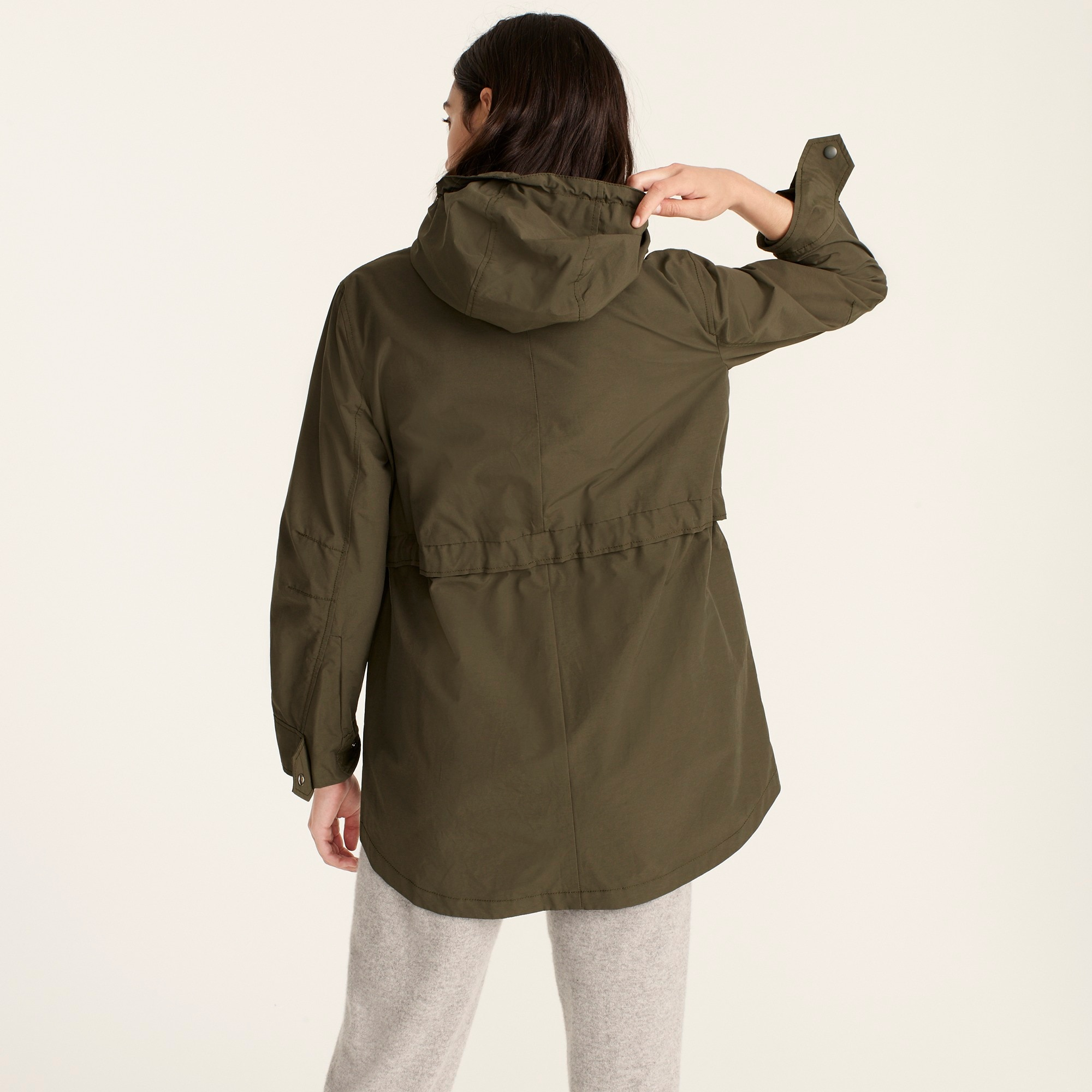 Petite perfect rain jacket
