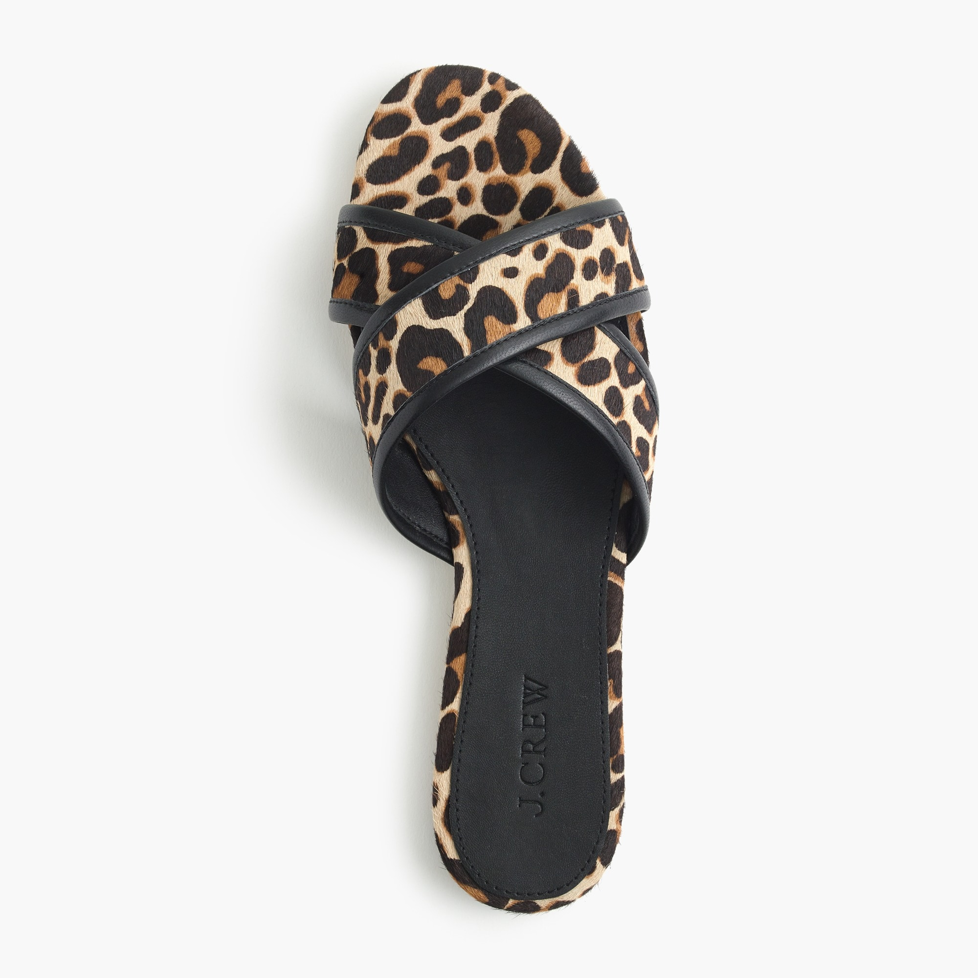 Image 2 for Leopard Cora crisscross sandals