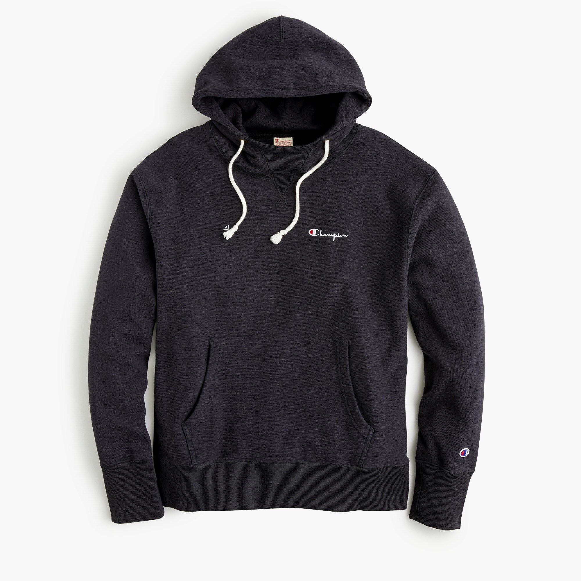 mens Champion® deconstructed hoodie