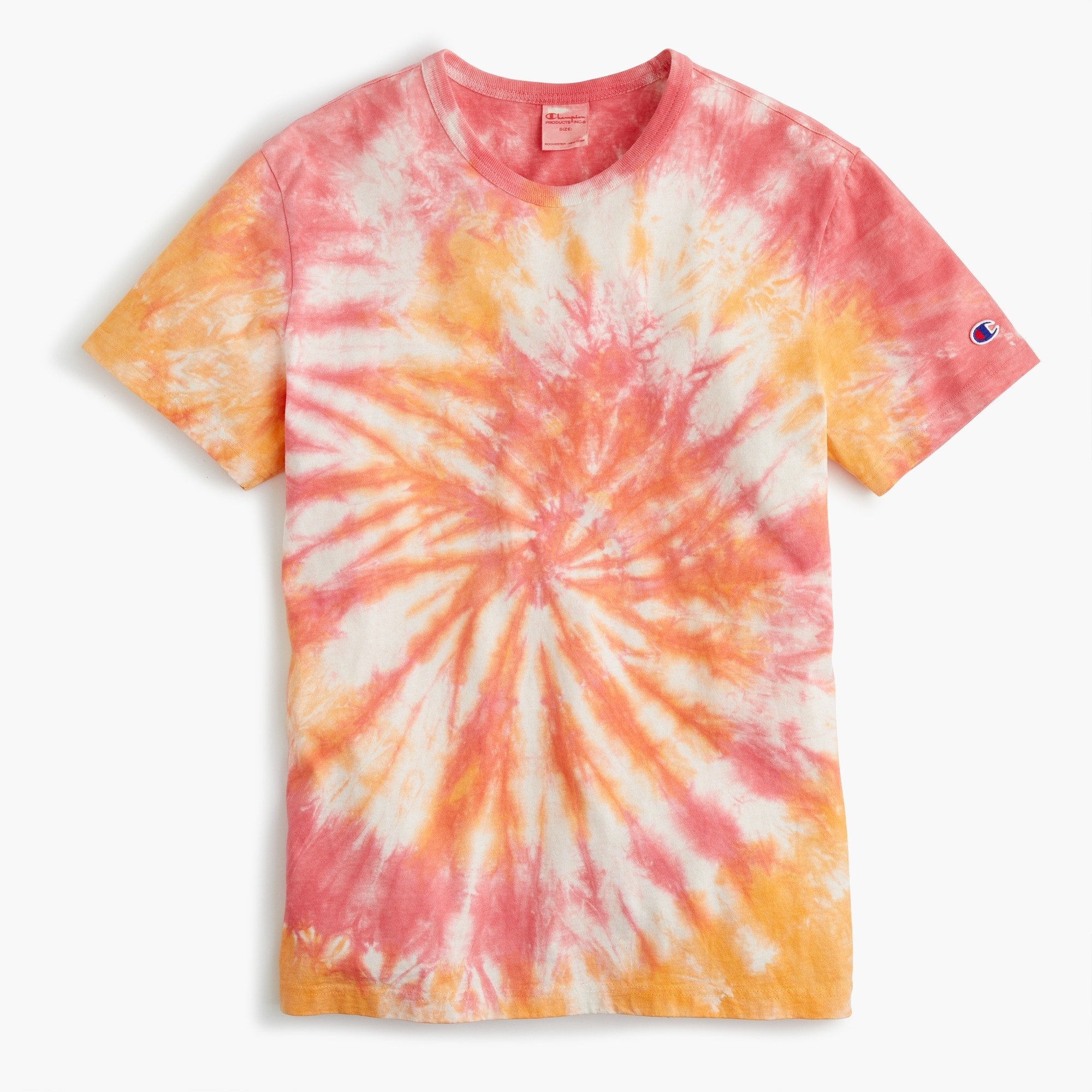 Champion® tie-dyed T-shirt men j.crew in good company c