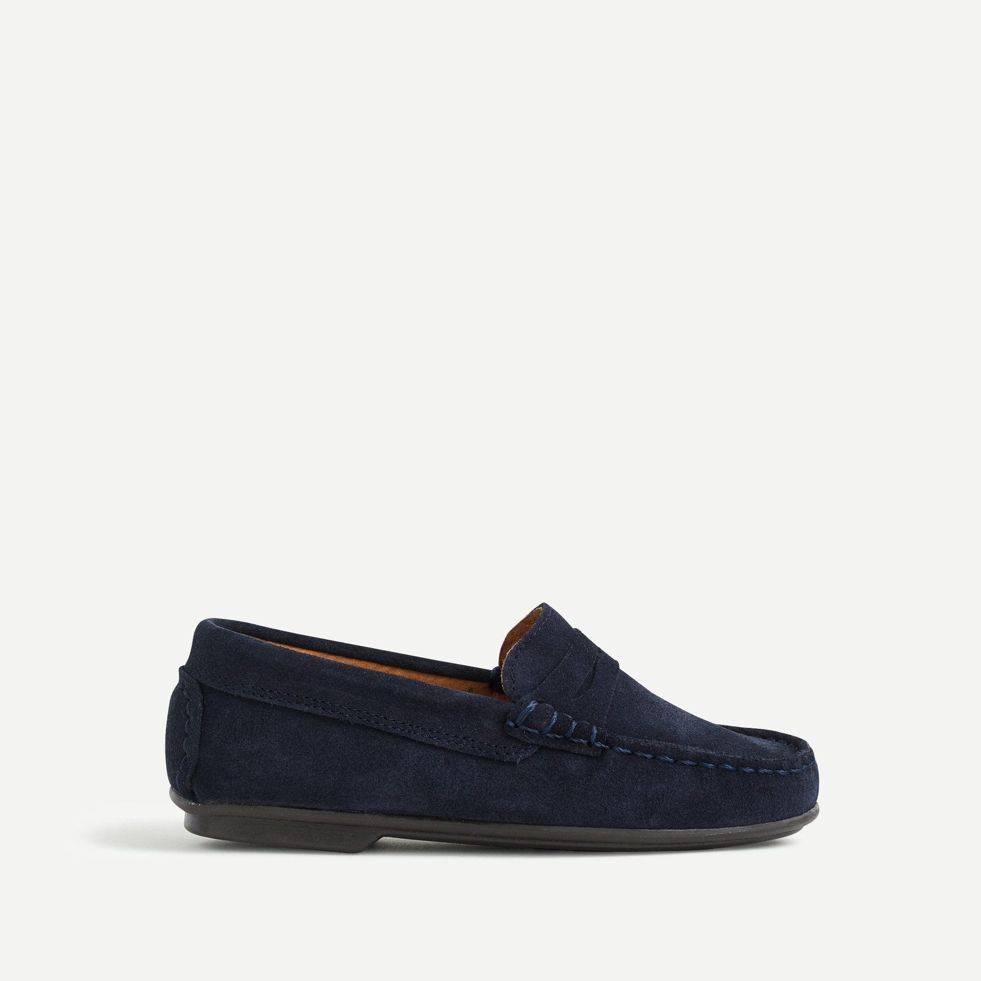 boys Kids' Childrenchic® for crewcuts suede penny loafers