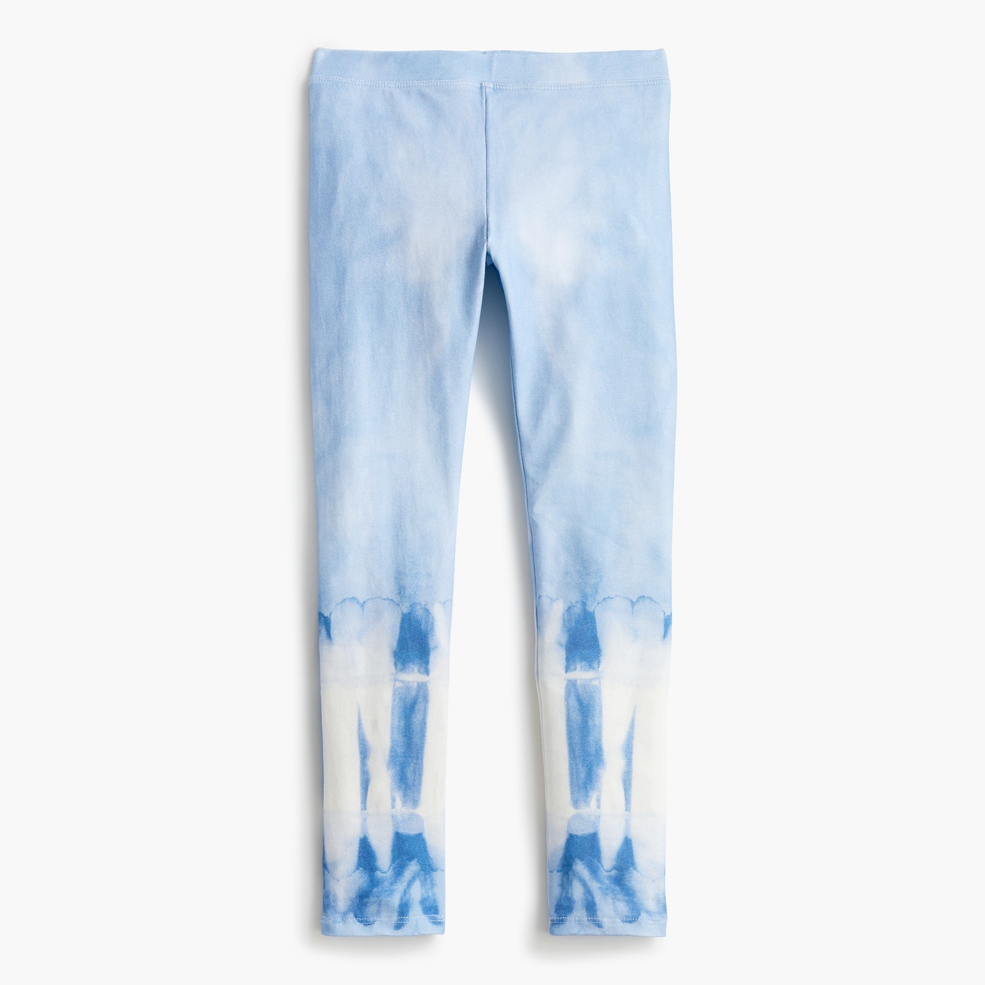 Girls' everyday leggings in tie-dye girl pants c