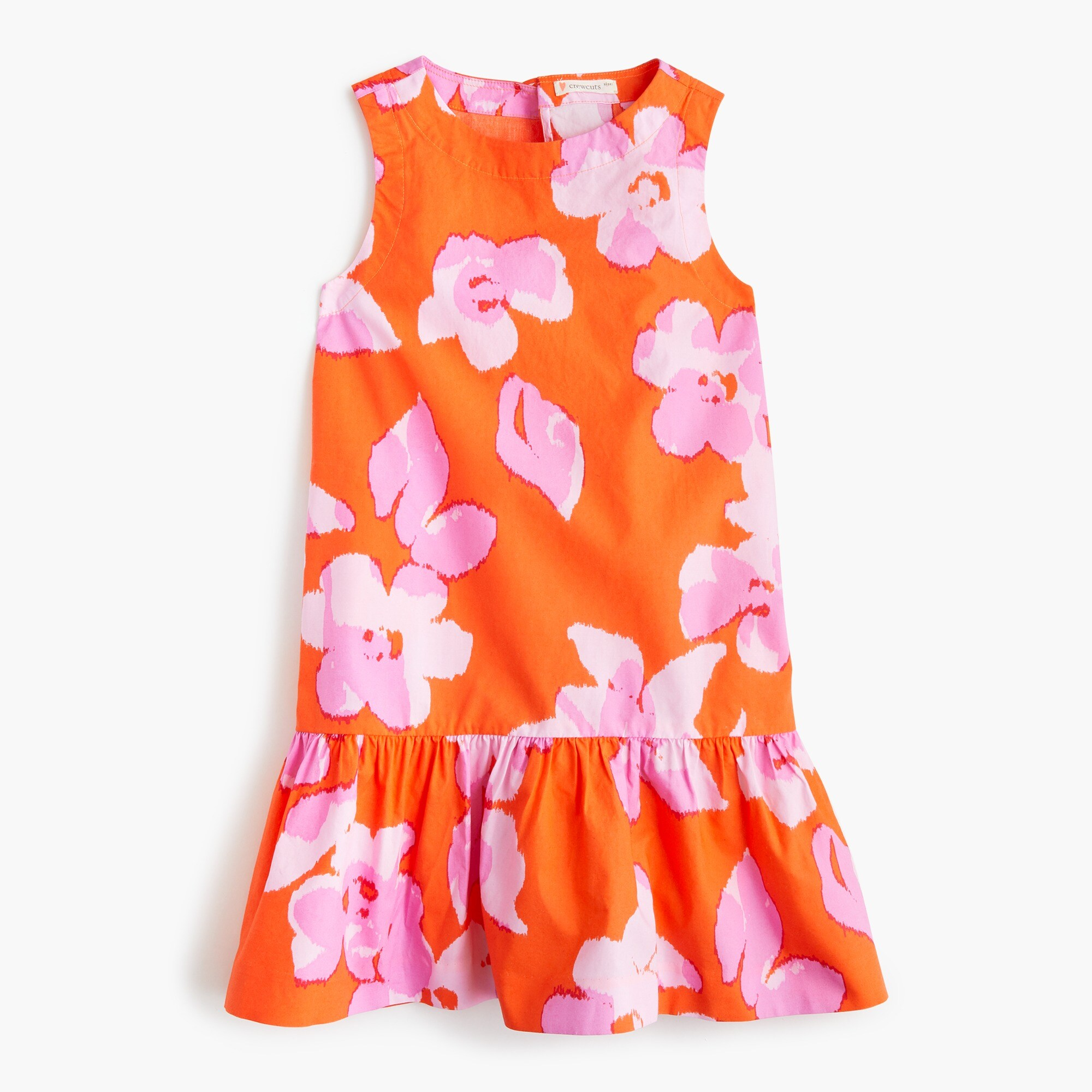Girls' drop-waist dress in floral girl new arrivals c