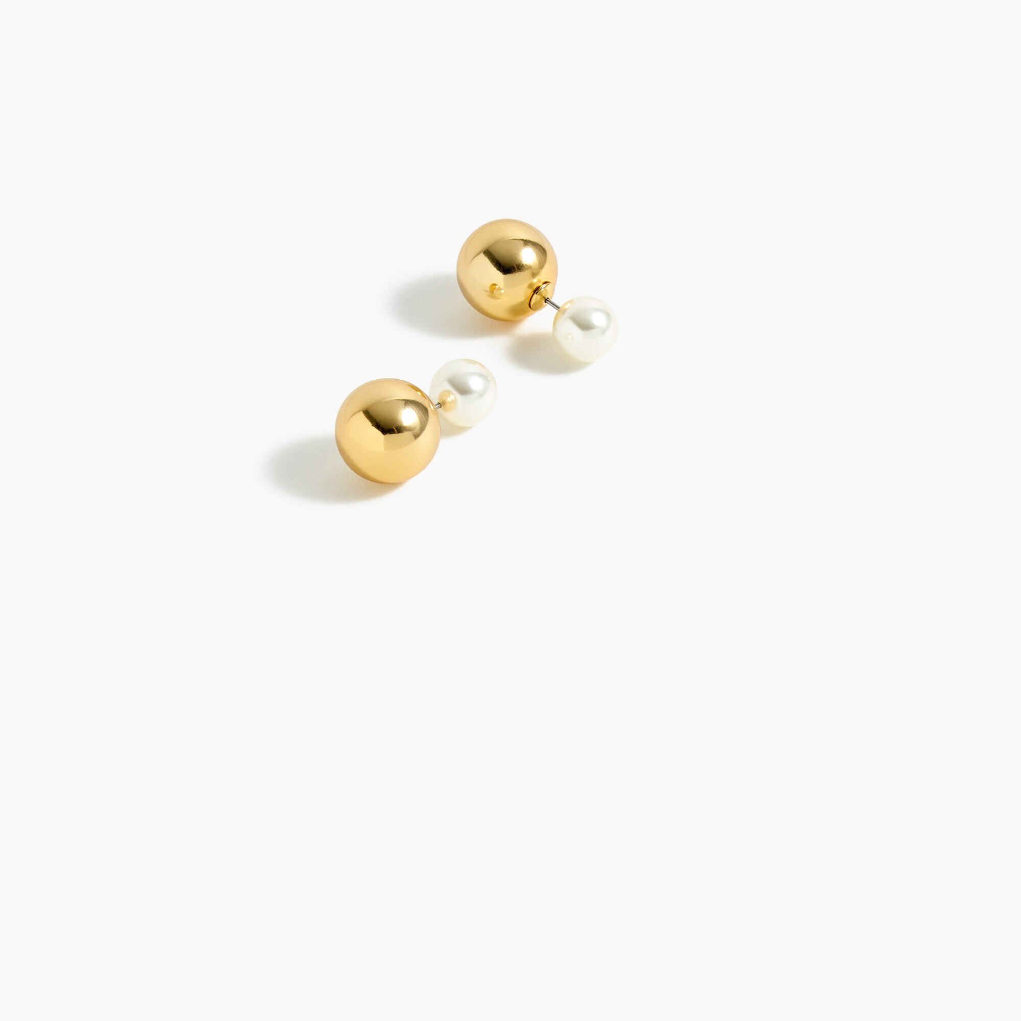 Reversible stud earrings women jewelry c