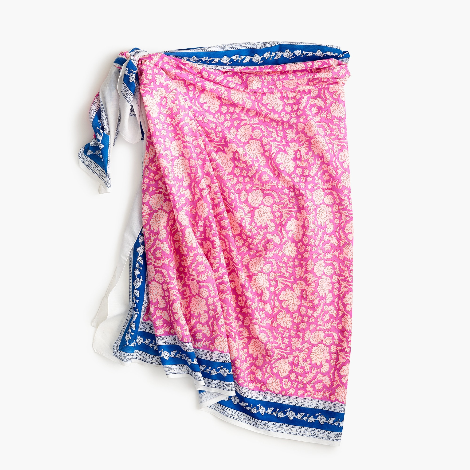 SZ Blockprints™ for J.Crew sarong-scarf women j.crew in good company c