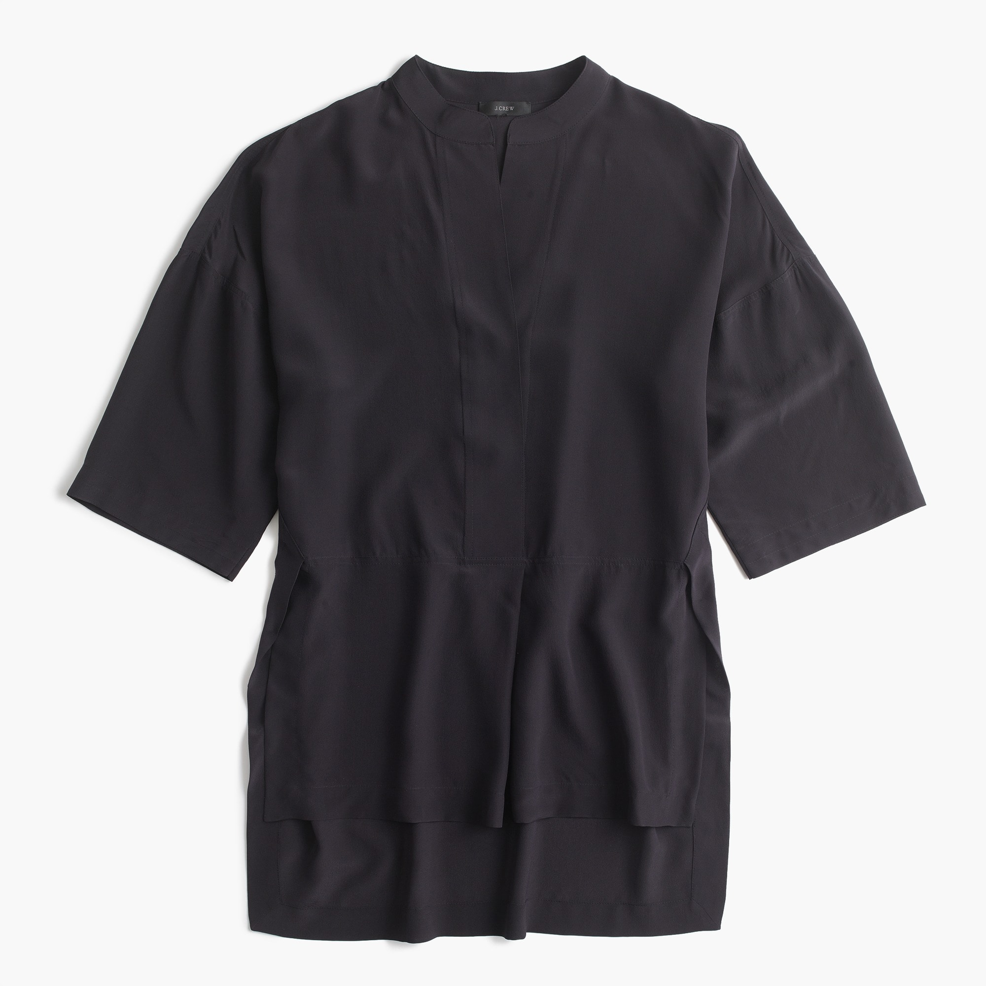 women's silk tunic - women's shirts