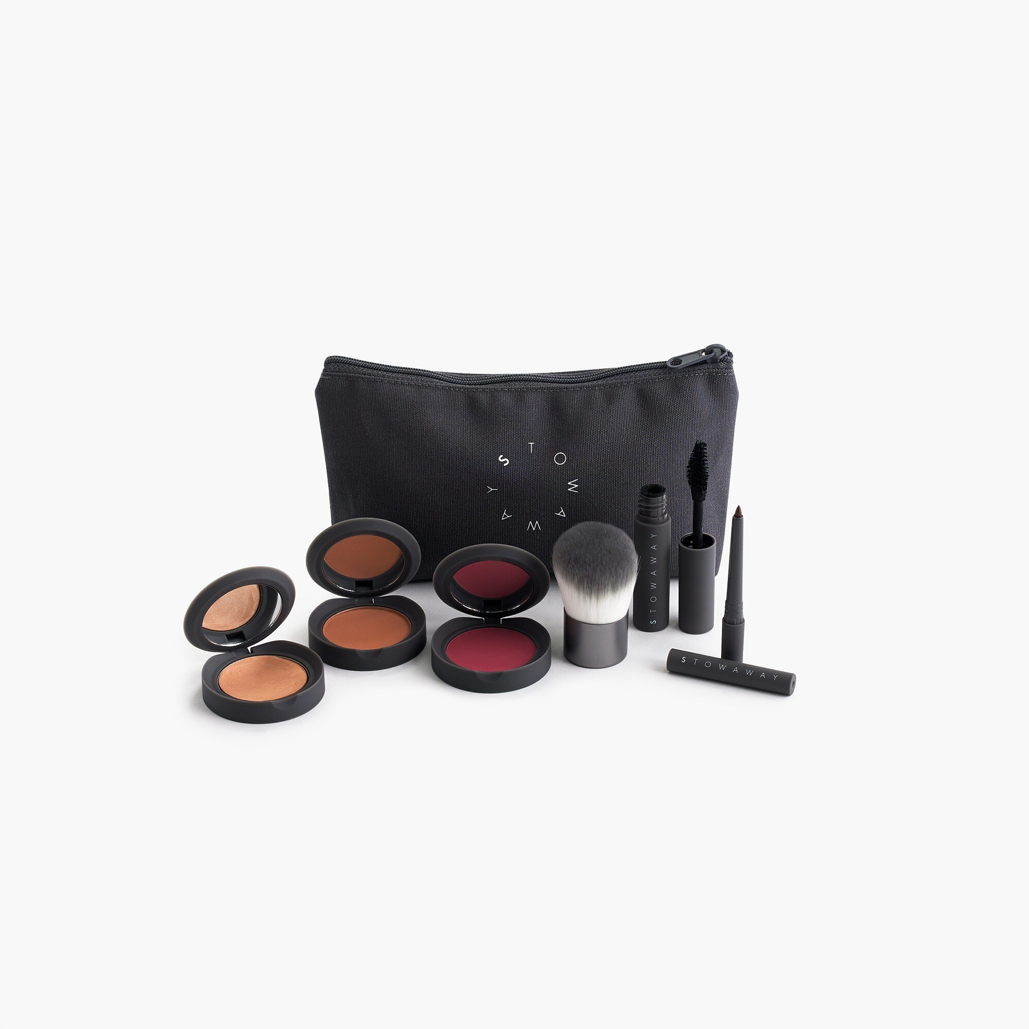 "womens Stowaway Cosmetics for J.Crew ""Fit in a Workout"" kit"