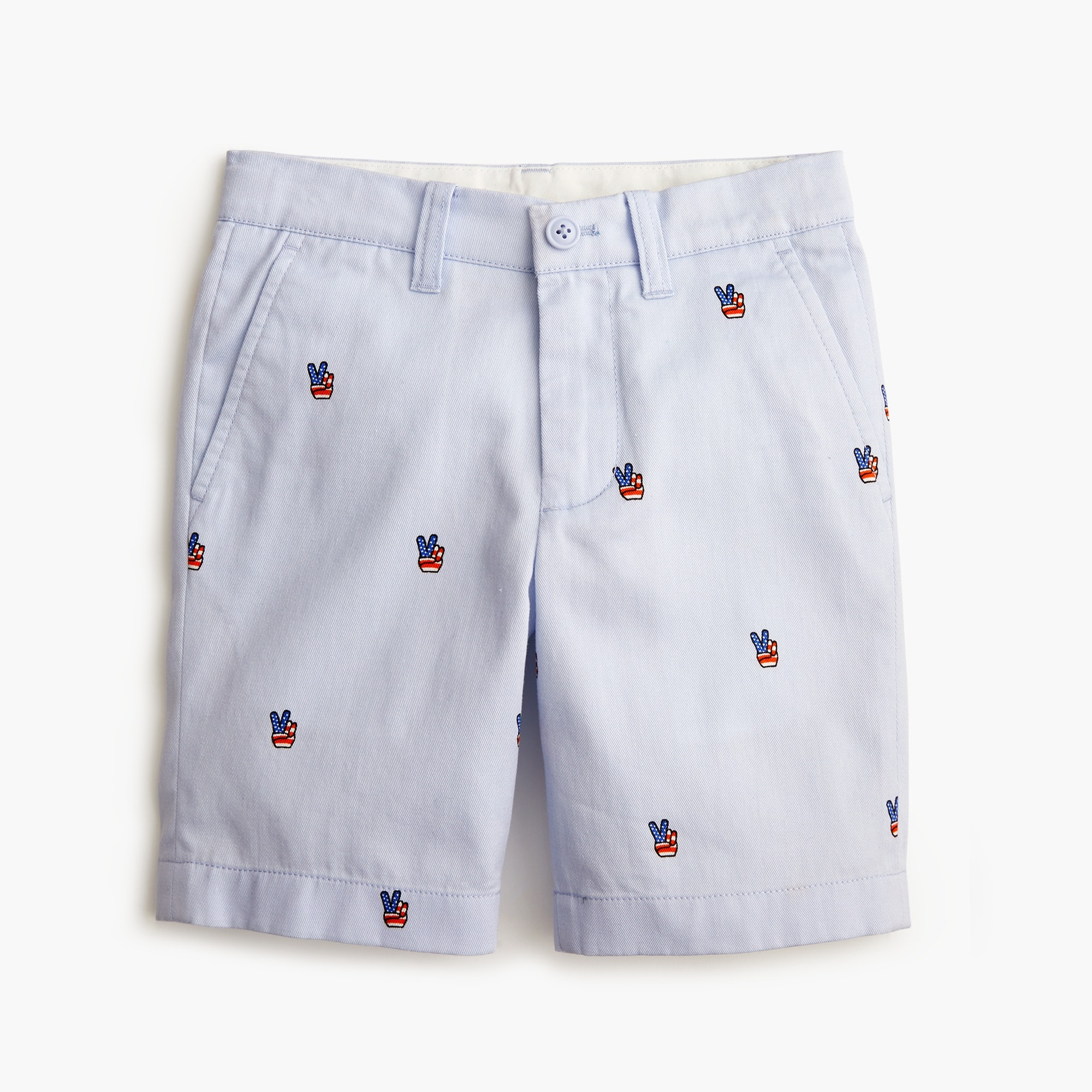 Boys' Stanton critter short in peace signs boy new arrivals c
