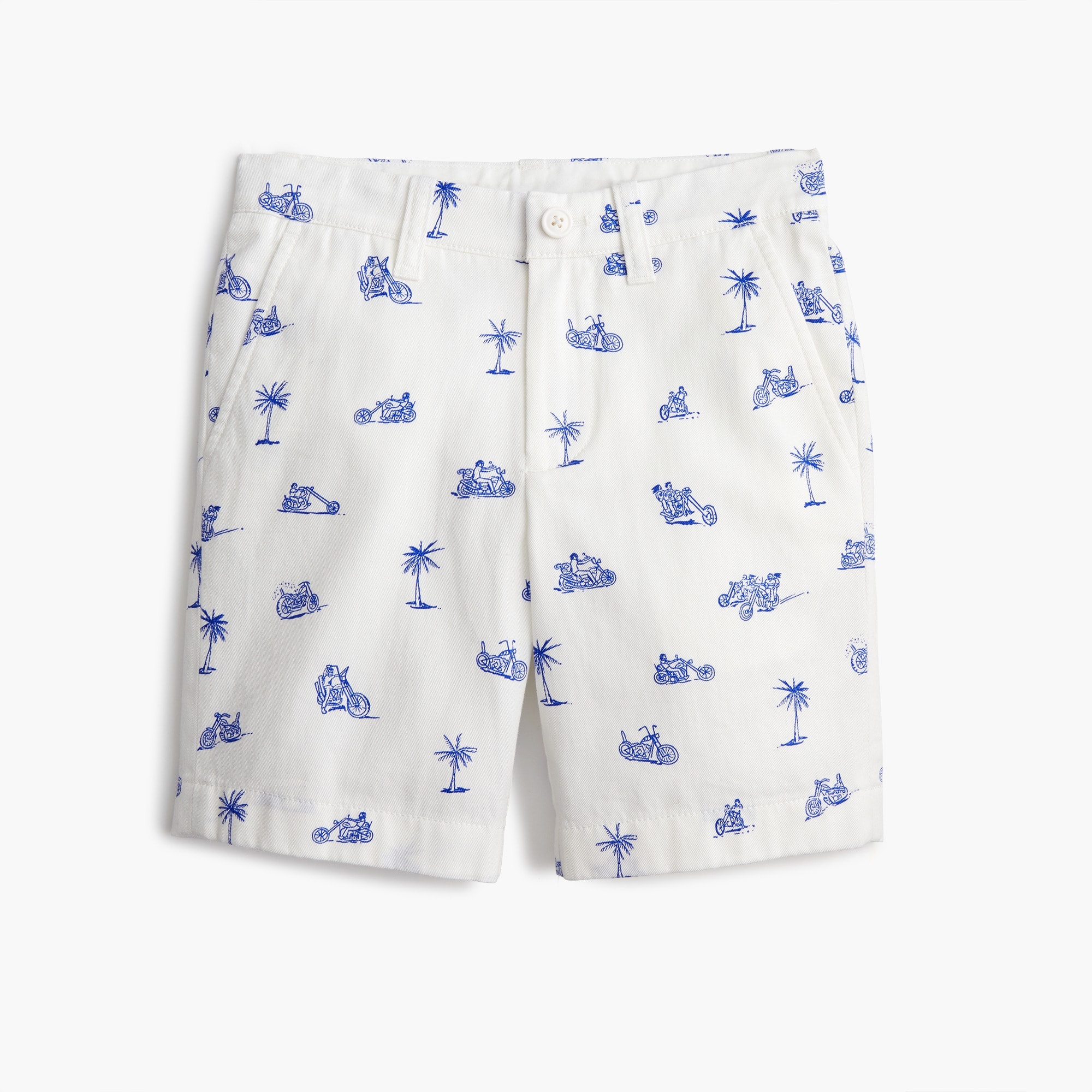 boys Boys' Stanton short in motorcycle print