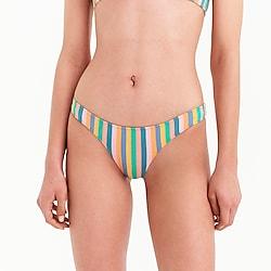 J.Crew Playa printed Nantucket cheeky bikini bottom