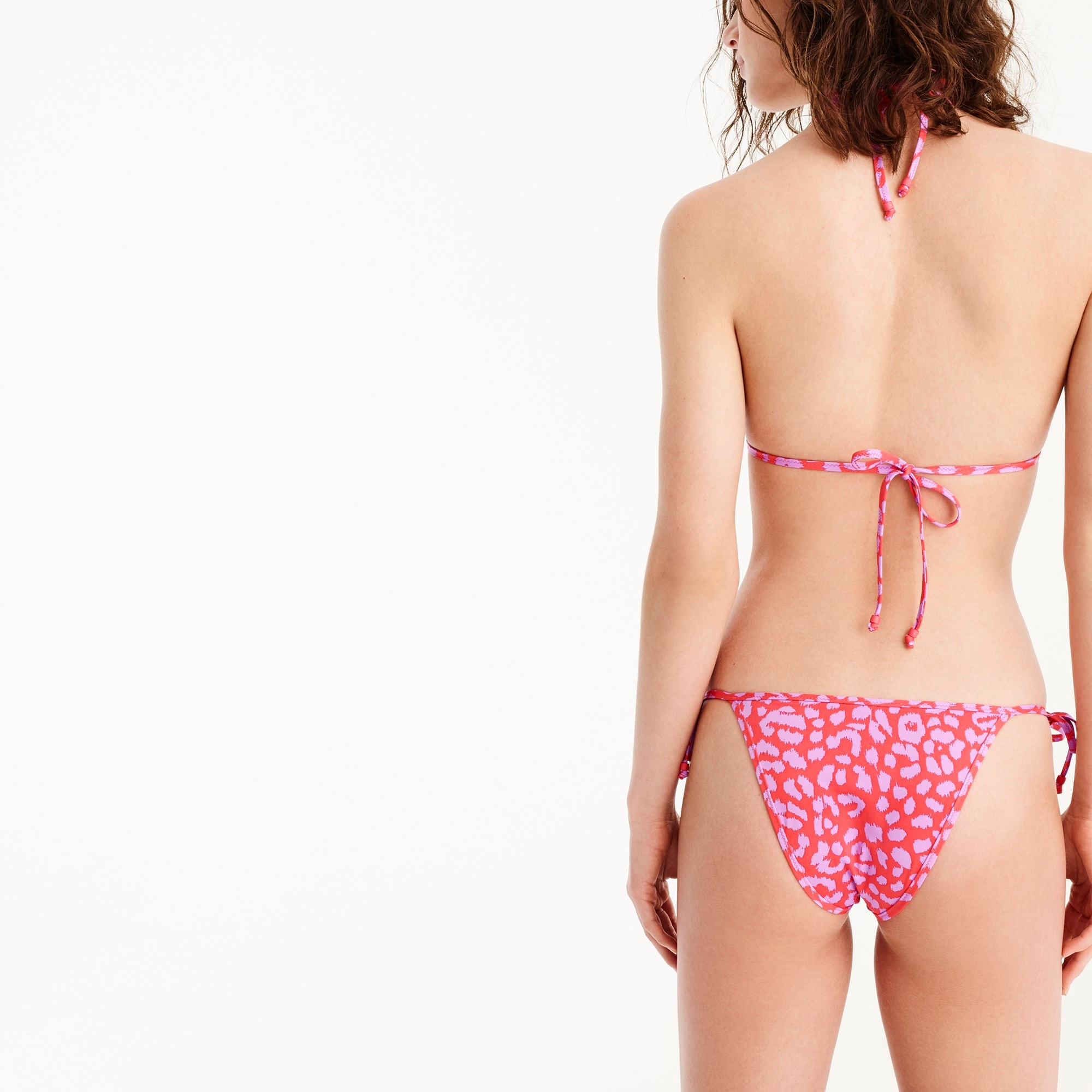 Image 2 for J.Crew Playa printed Miami string bikini bottom
