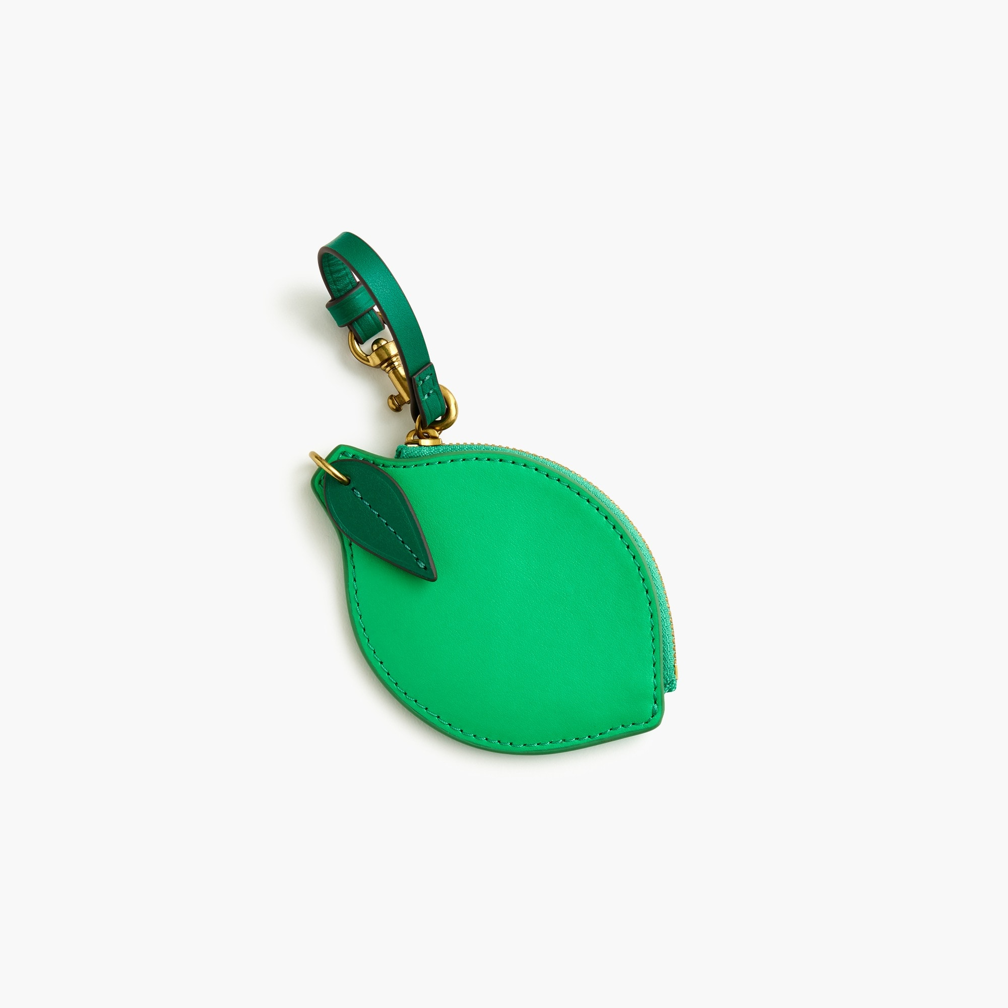Lime coin purse