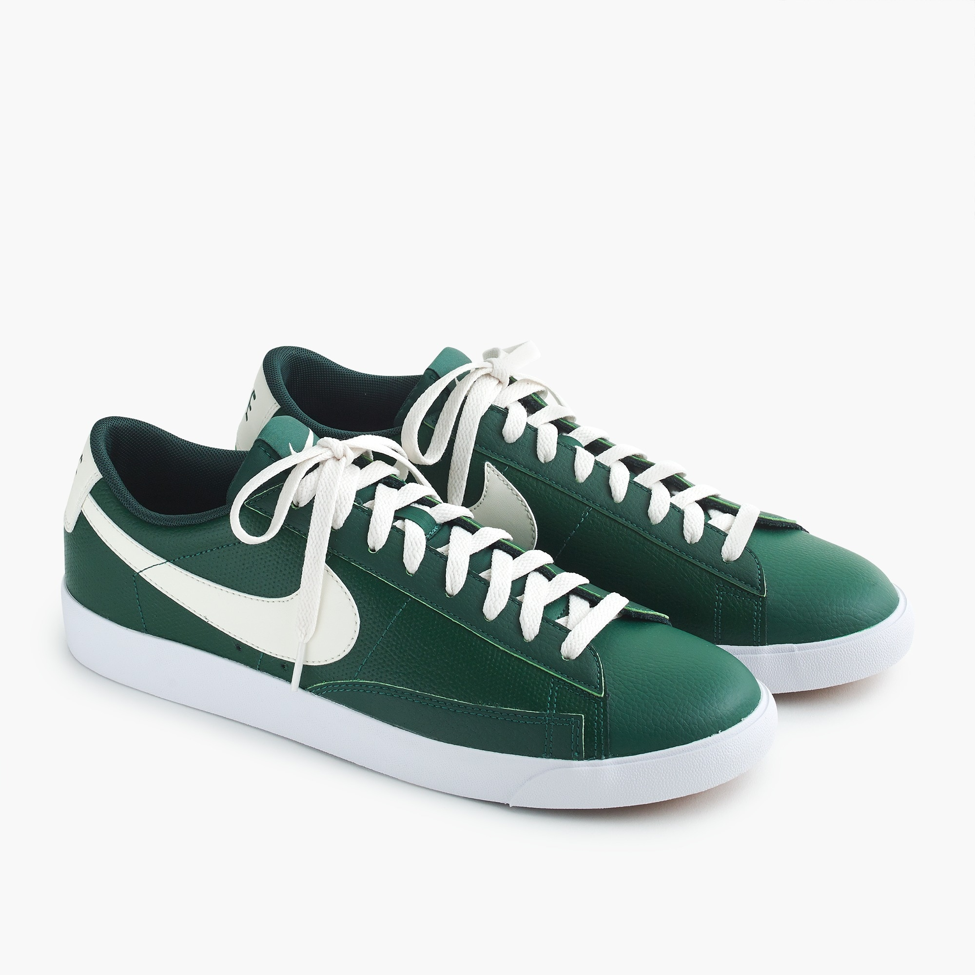 mens Nike® Blazer sneakers in leather
