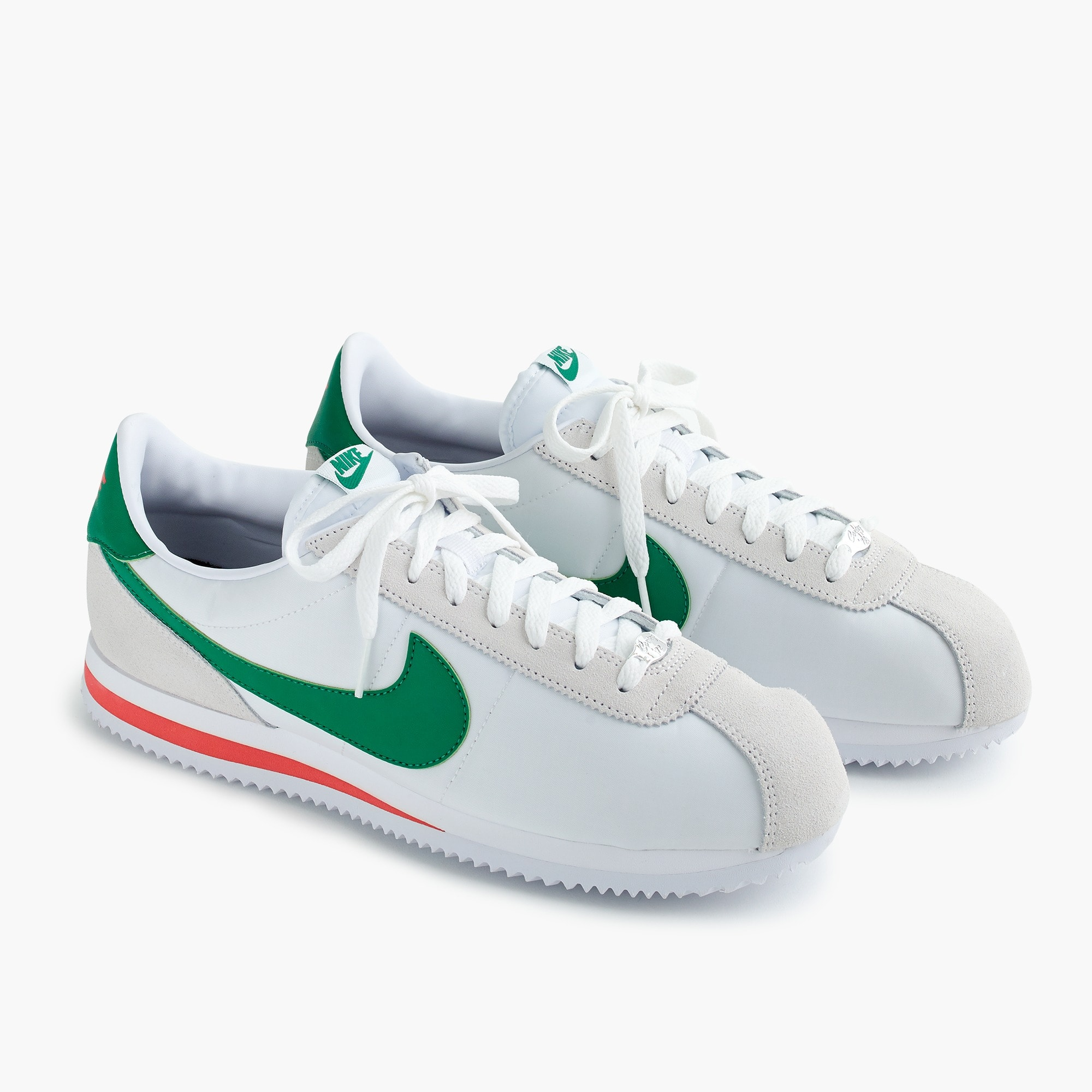 Nike® Cortez sneakers in white nylon men j.crew in good company c