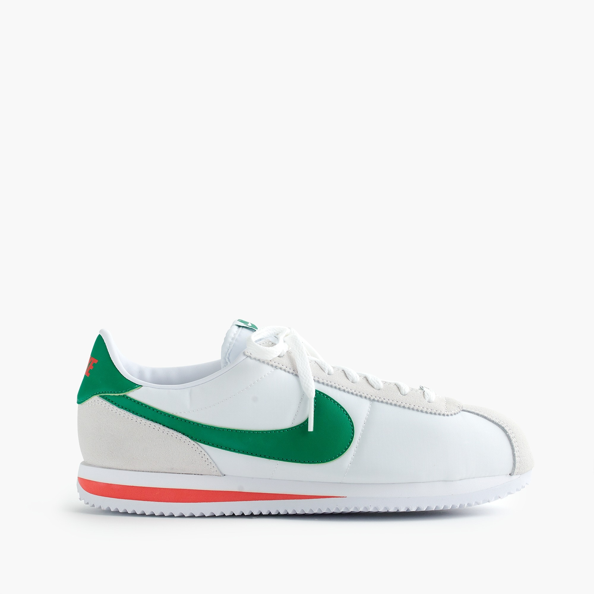 Nike® Cortez sneakers in white nylon