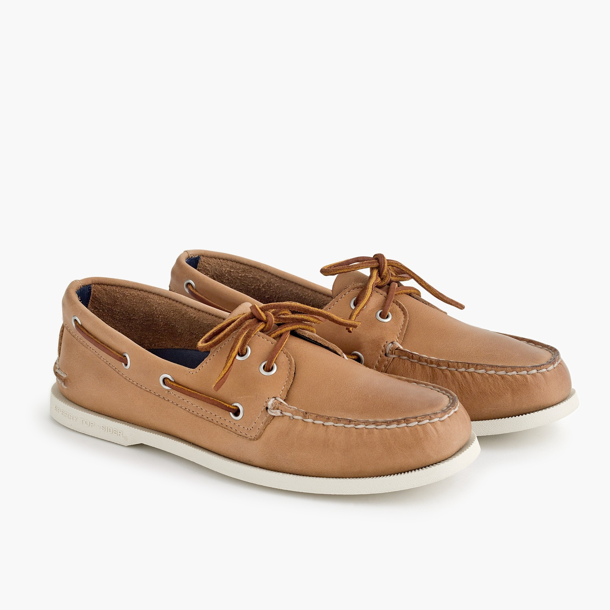 Sperry® for J.Crew Authentic Original 2-eye boat shoes in leather men j.crew in good company c