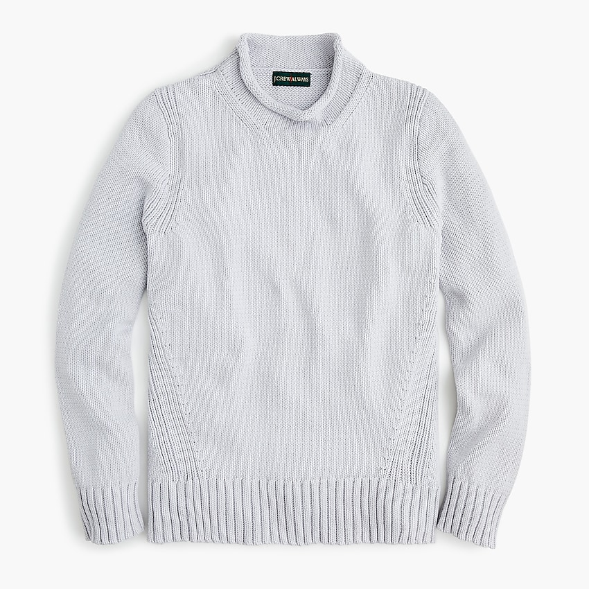 j.crew: women's 1988 rollneck™ sweater, right side, view zoomed
