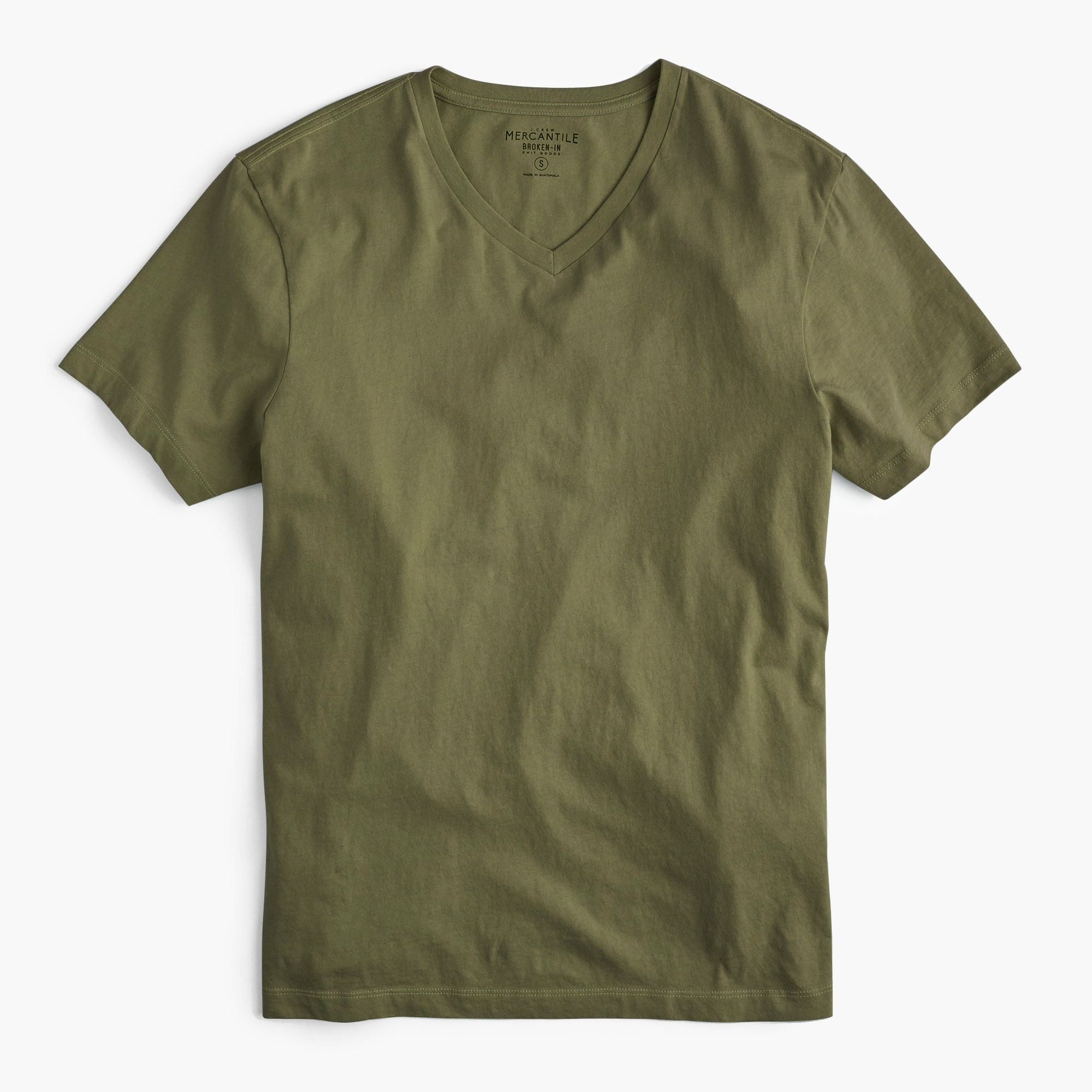 J.Crew Mercantile Broken-in V-neck T-shirt men t-shirts & polos c