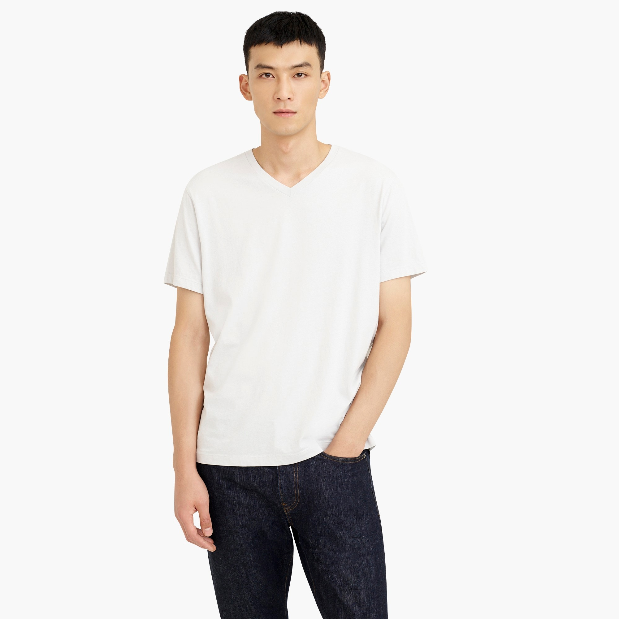 Image 1 for J.Crew Mercantile Broken-in V-neck T-shirt