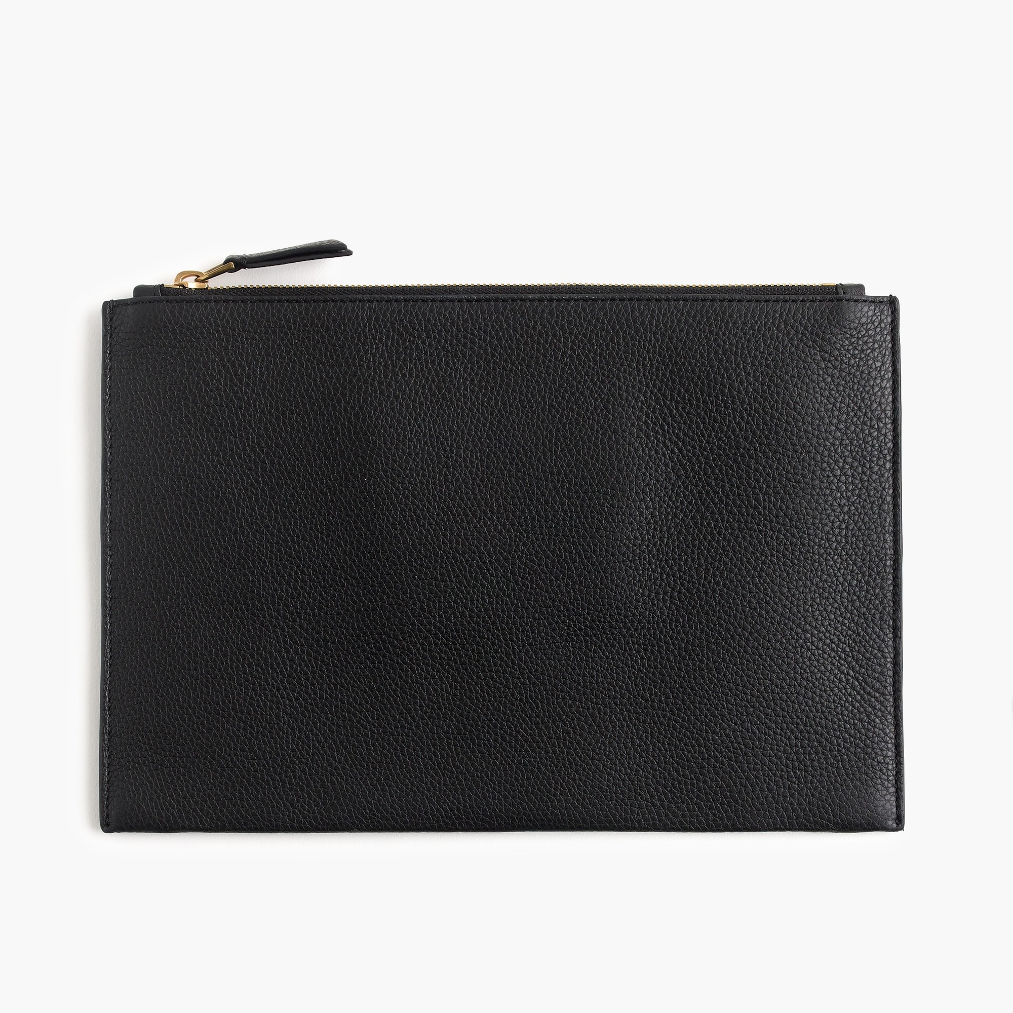 womens Signet large pouch