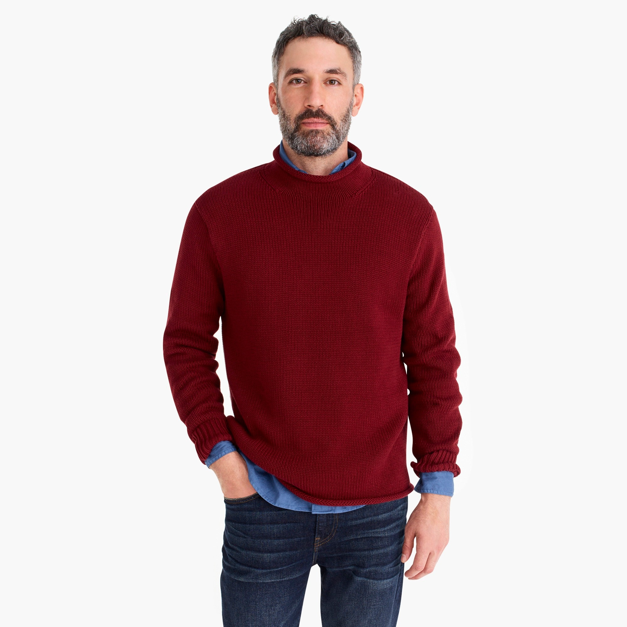 Image 2 for Unisex 1988 cotton rollneck™ sweater