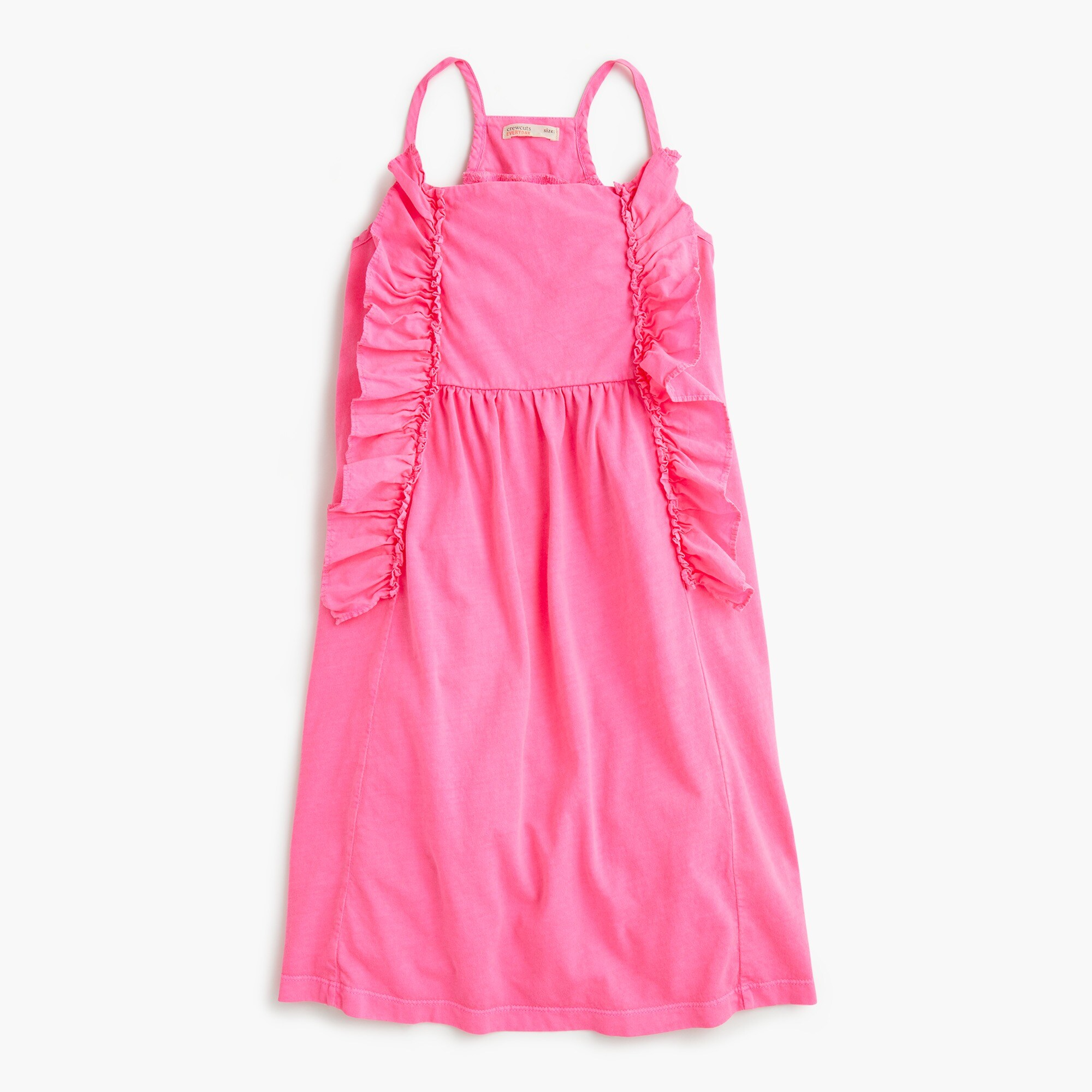 Image 1 for GIrls' neon ruffle dress