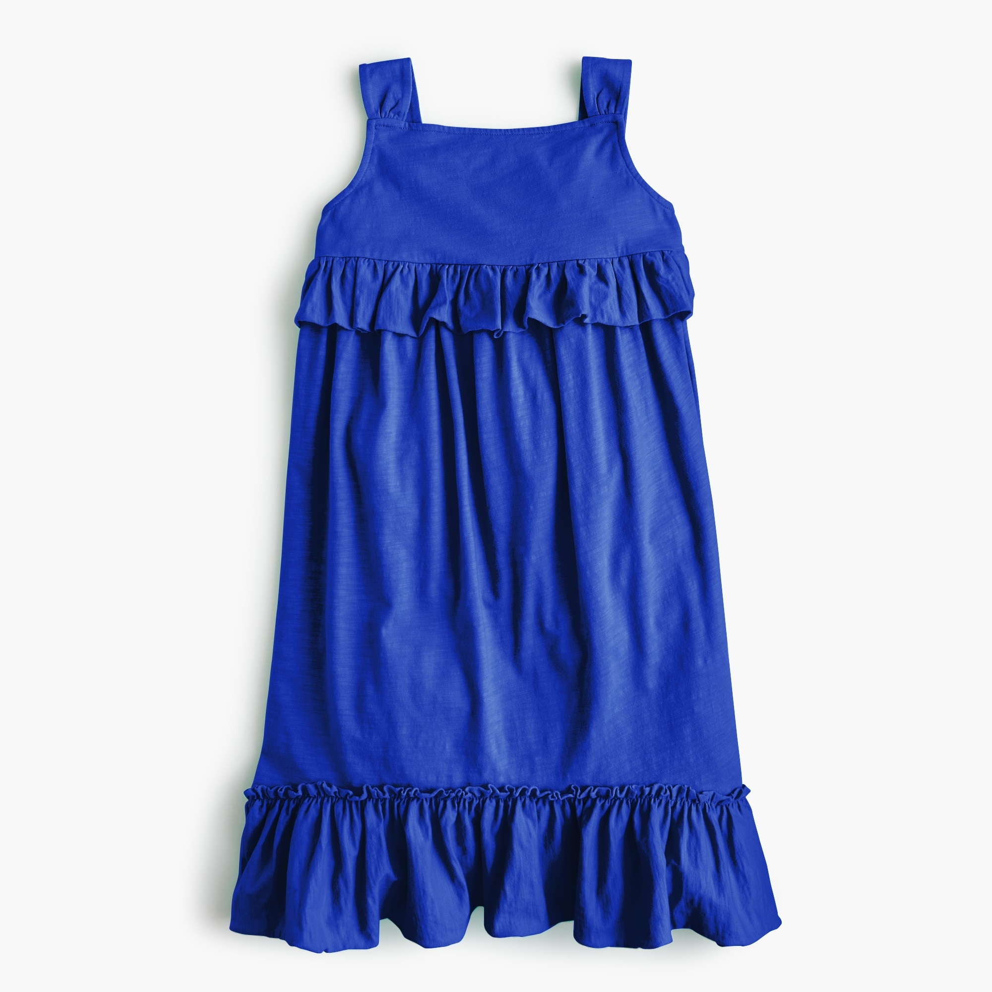 Girls' ruffle tank dress girl dresses & jumpsuits c