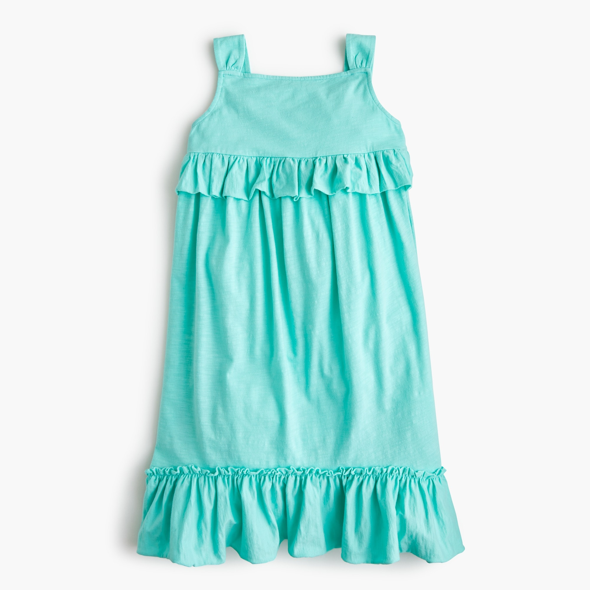 Girls' ruffle tank dress girl new arrivals c