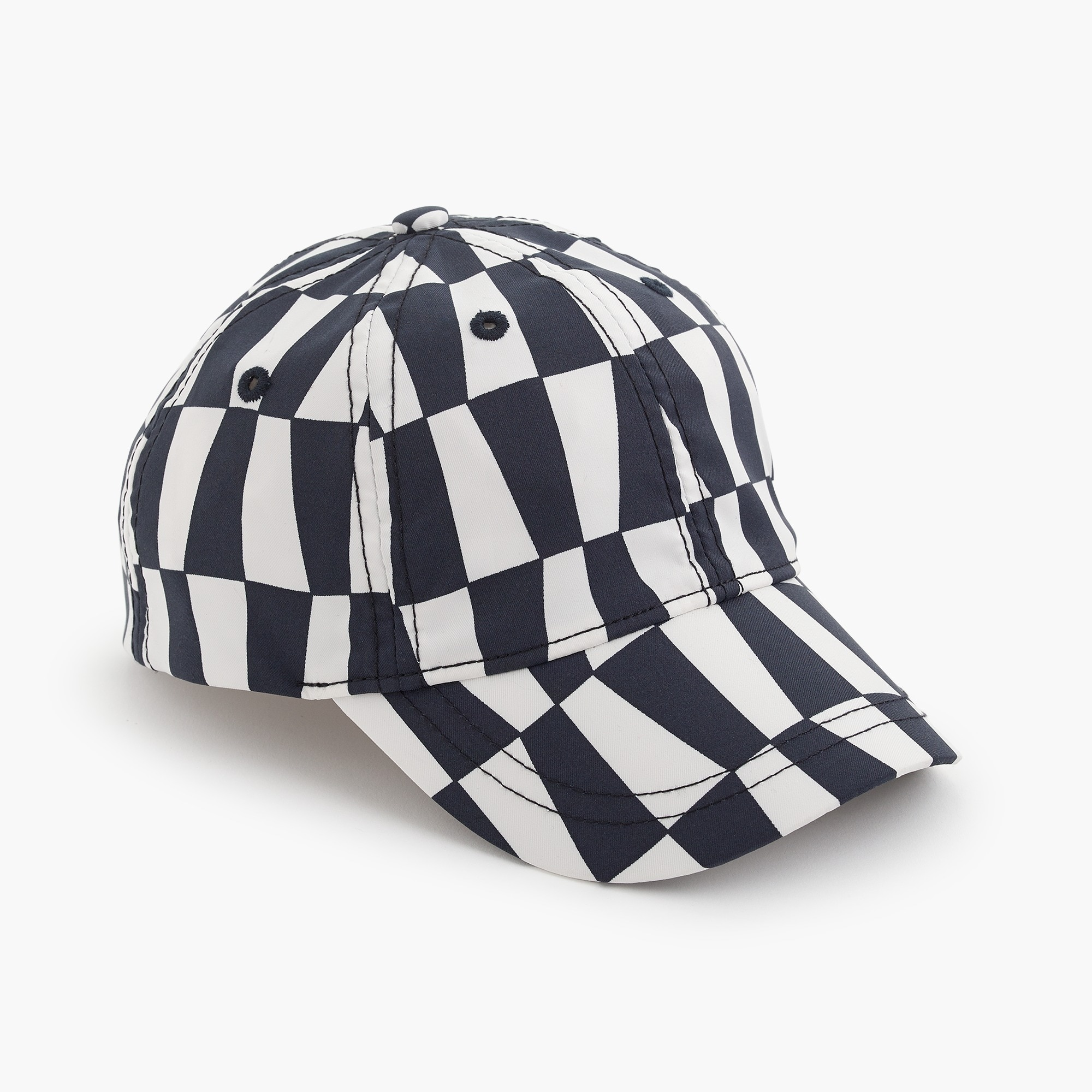 Kids' quick-drying baseball cap in geometric print boy accessories c
