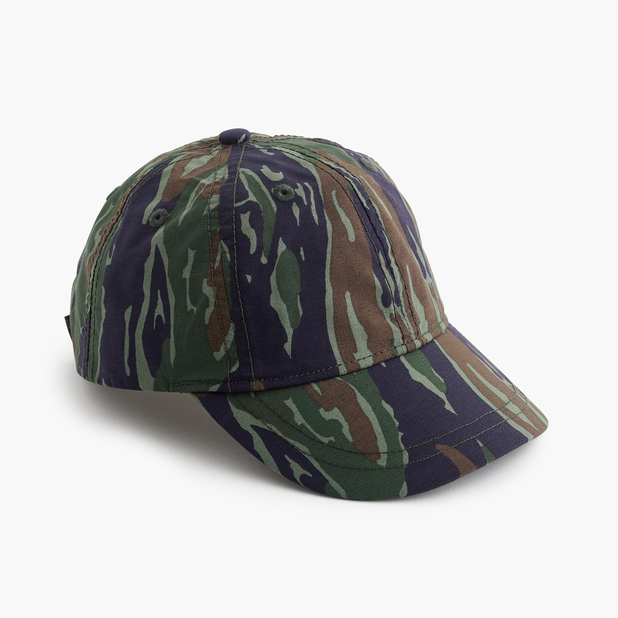 Kids' quick-drying baseball cap in camo boy accessories c