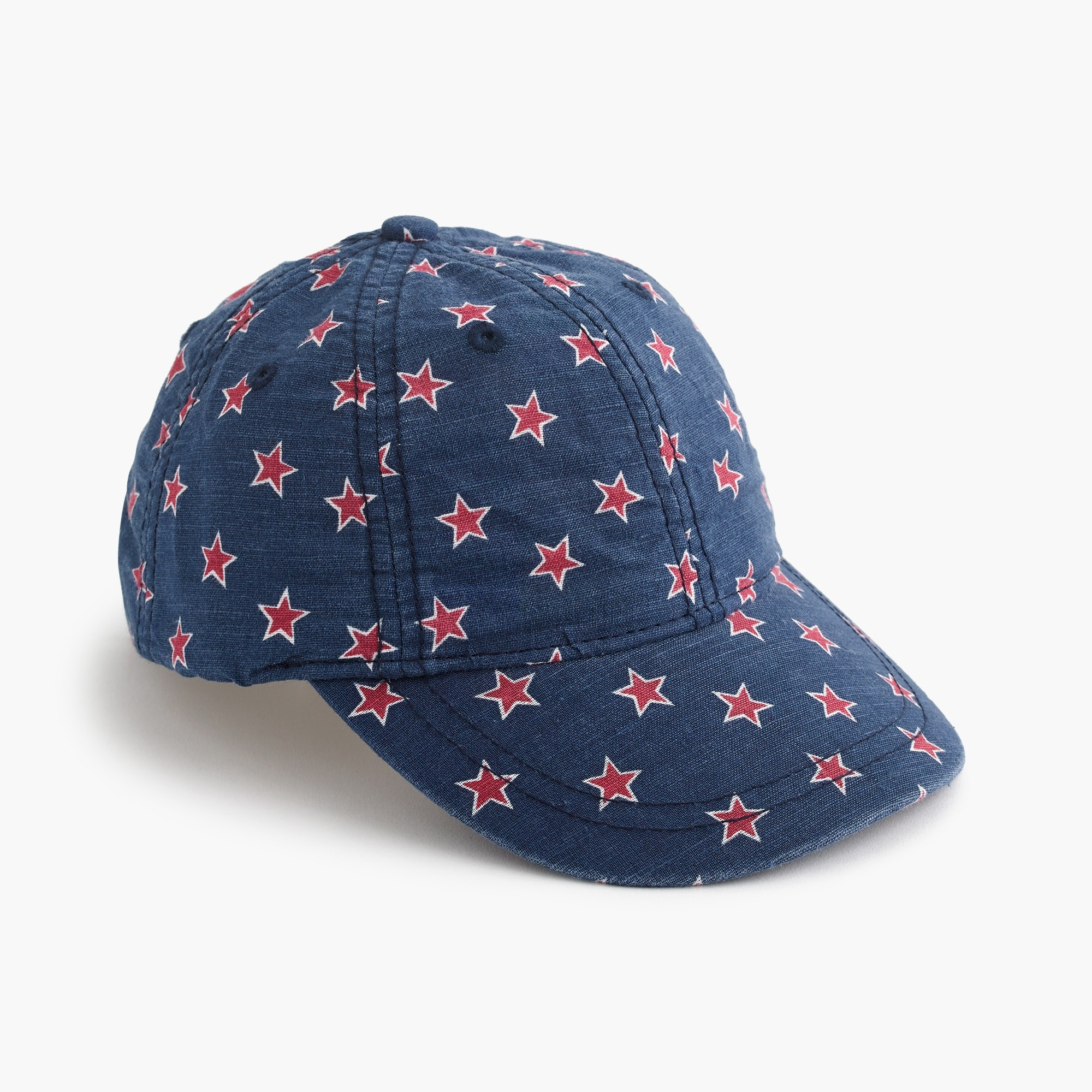 Image 1 for Kids' star-printed baseball cap