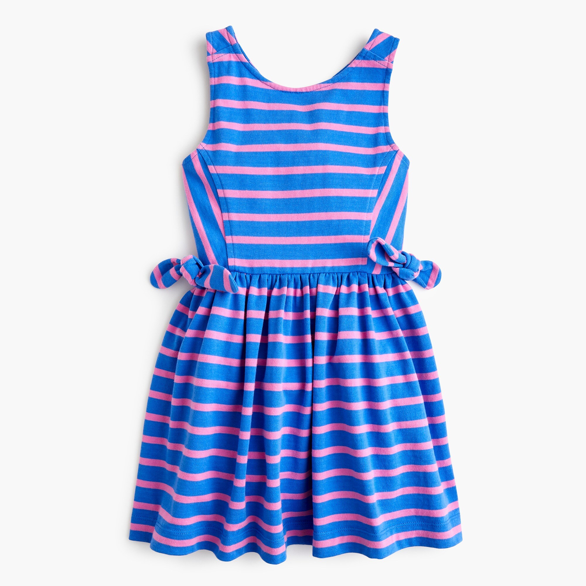 Girls' cross-back dress in stripes girl dresses & jumpsuits c