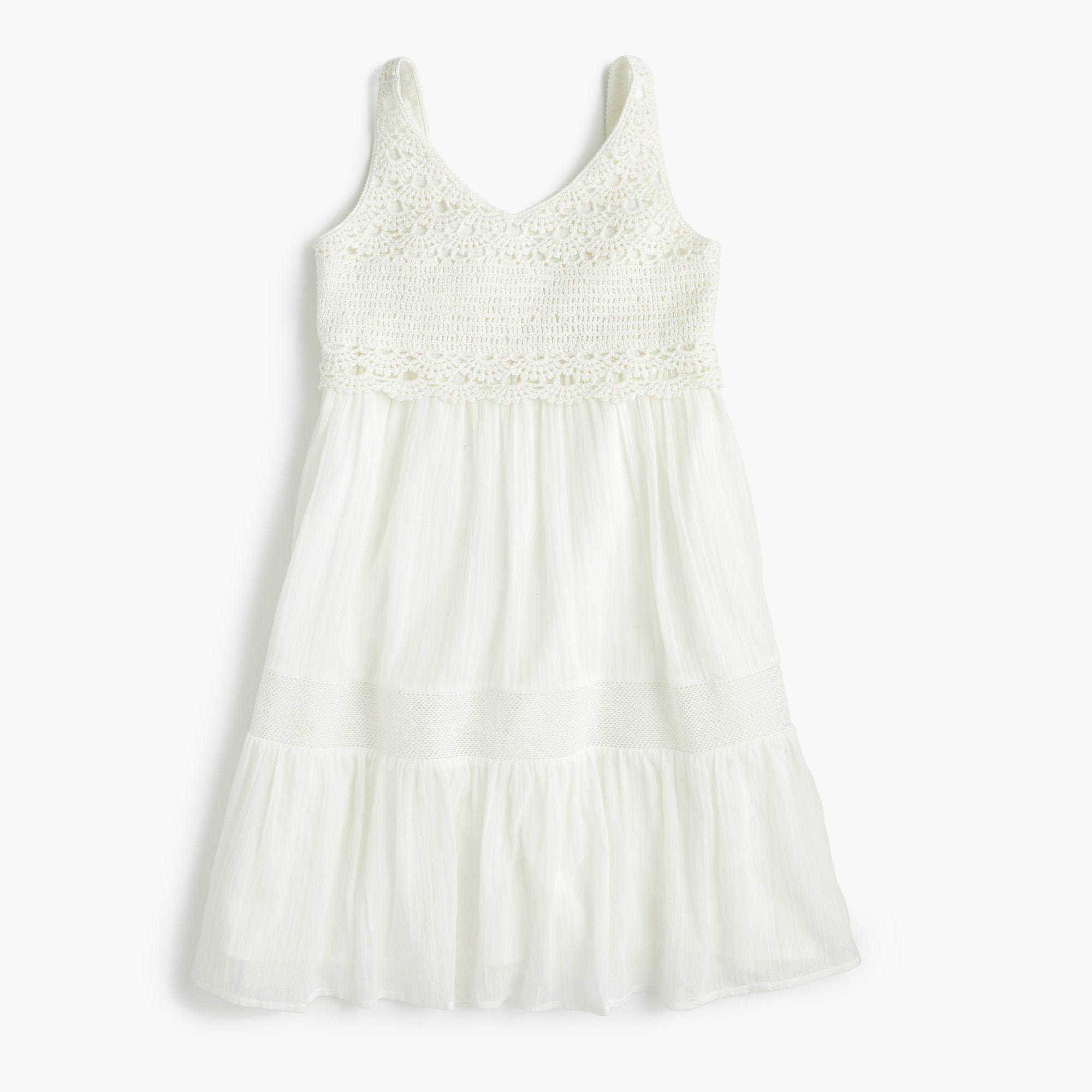 girls Girls' crochet dress