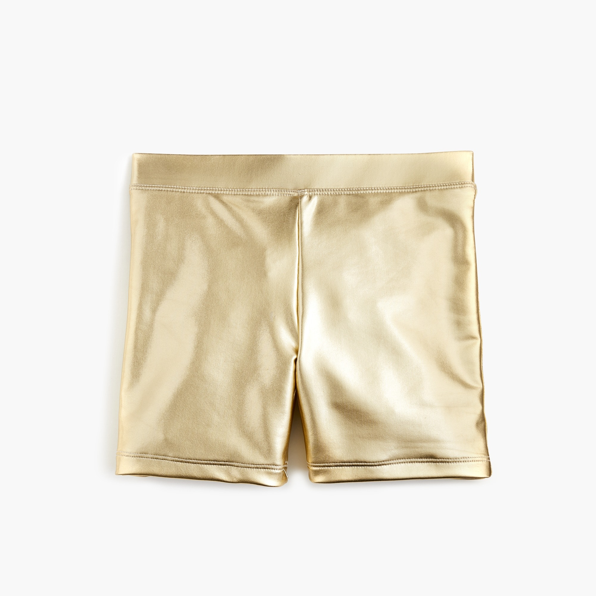Image 1 for Girls' bike short in metallic