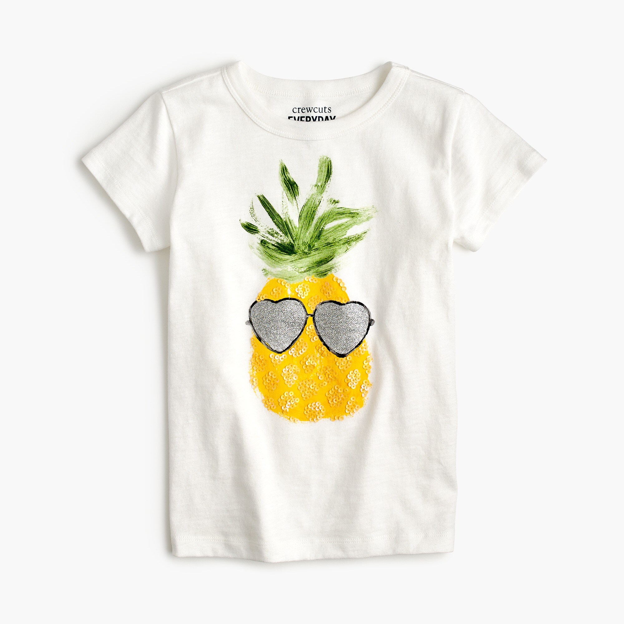 Image 1 for Girls' pineapple T-shirt