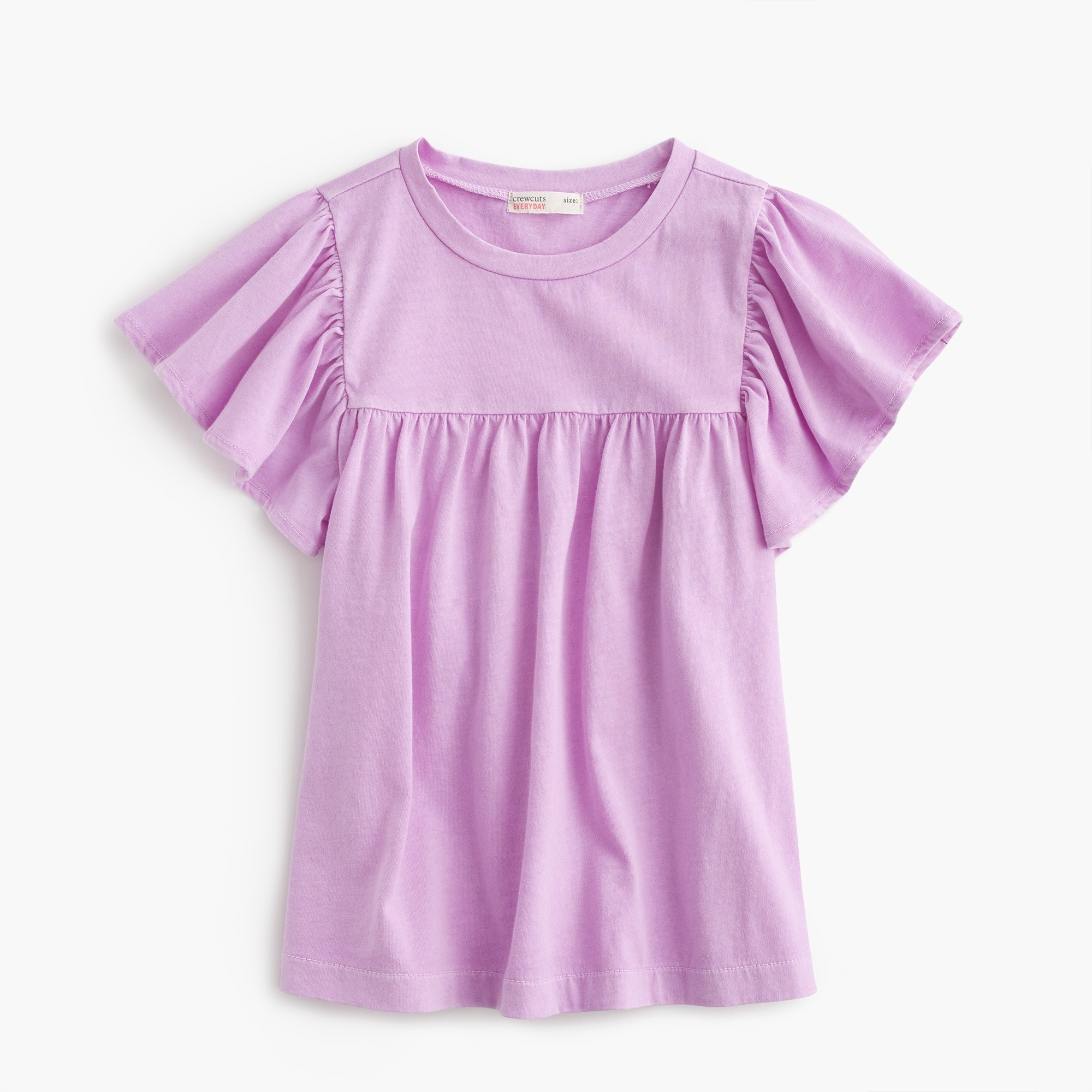 girls Girls' bell-sleeved T-shirt