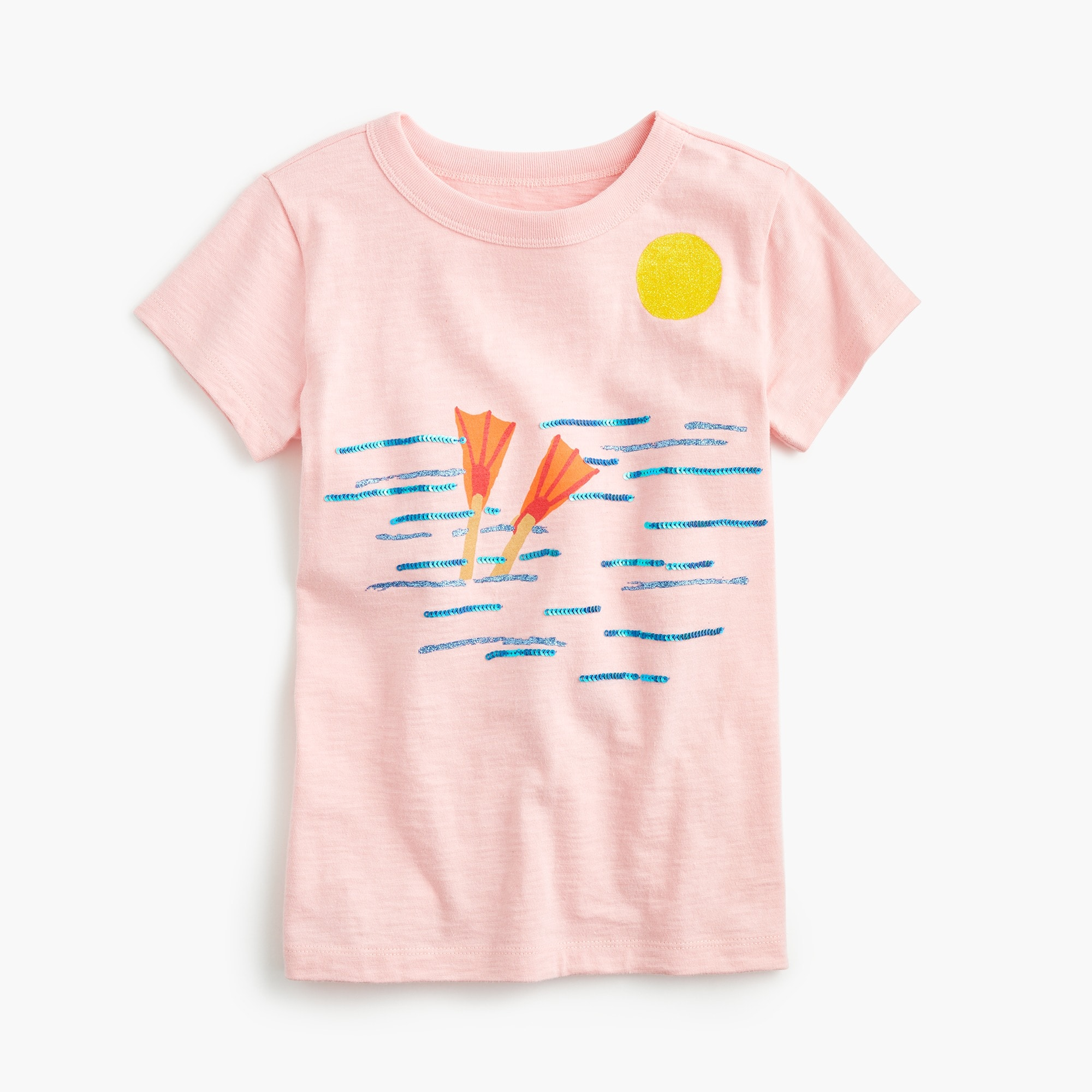 Girls' deep dive T-shirt