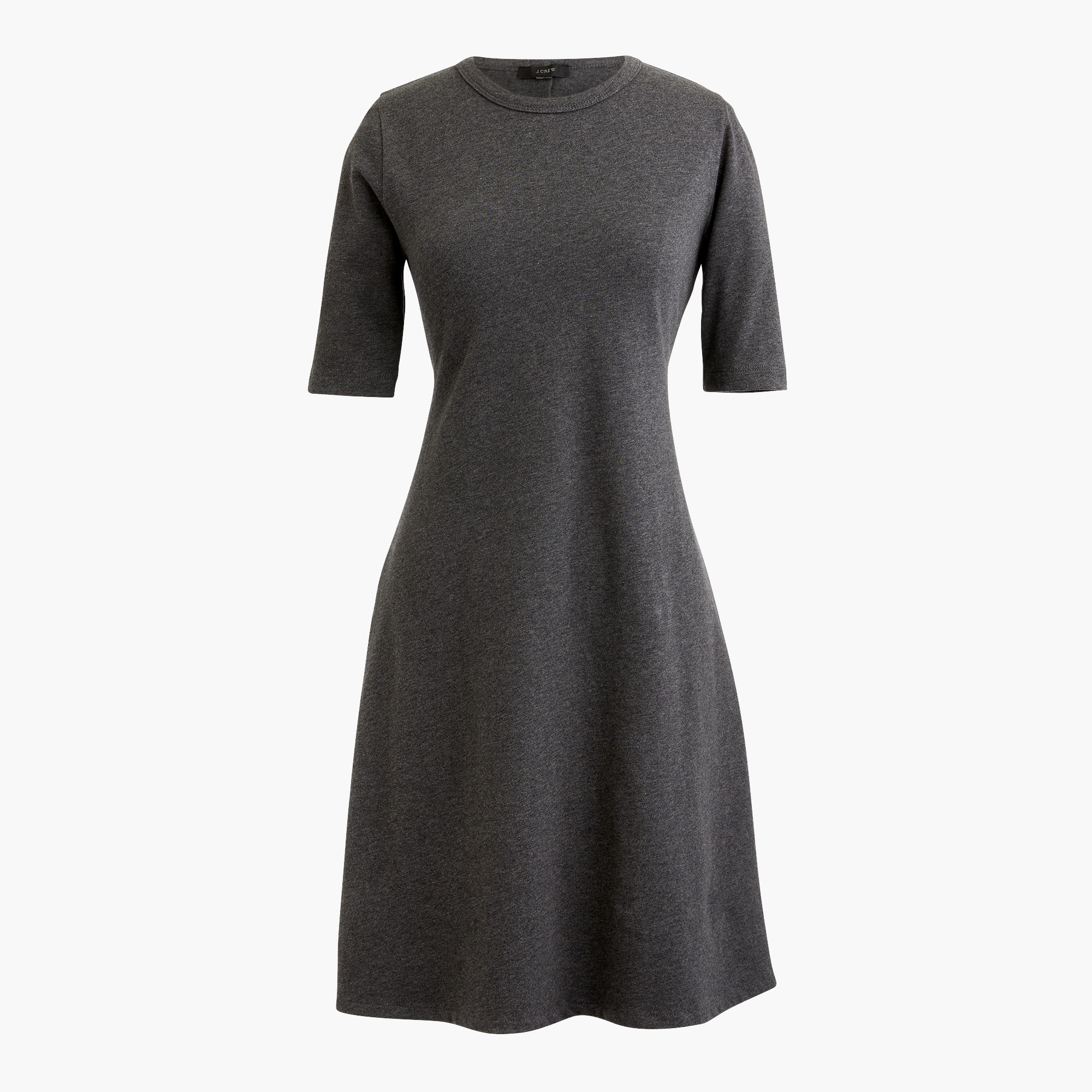 Petite short-sleeve knit dress