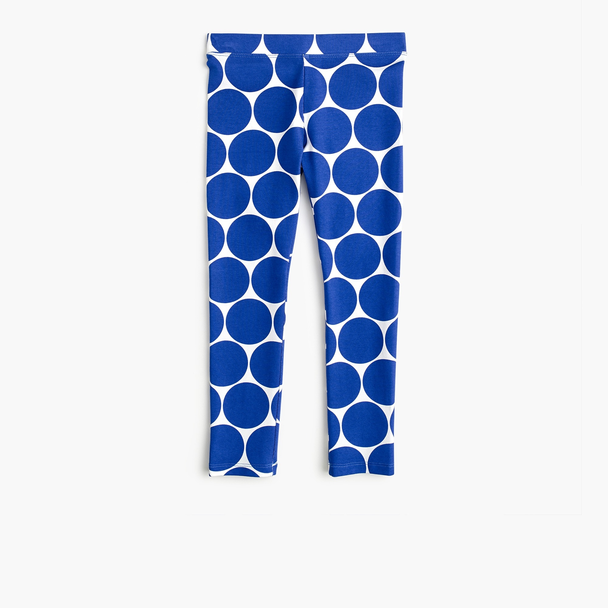 girls' cropped everyday leggings in dots - girls' pants