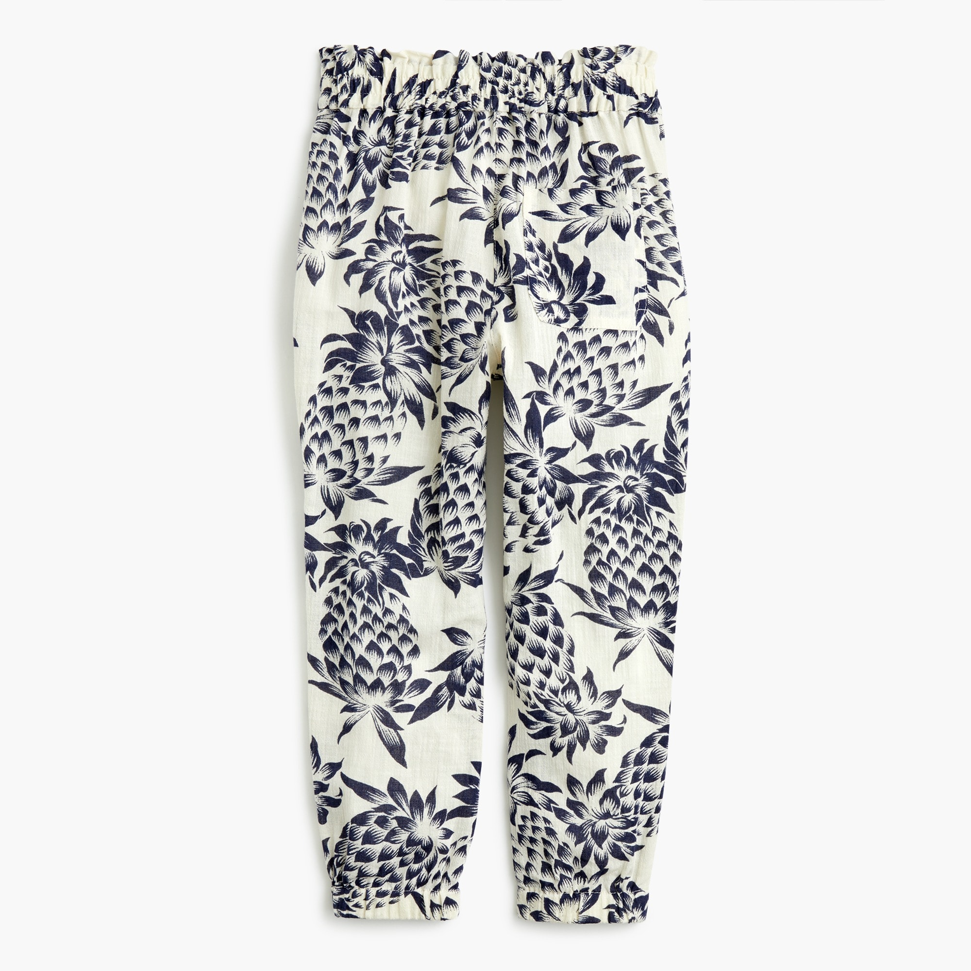 Image 2 for Girls' drawstring pant in pineapple print