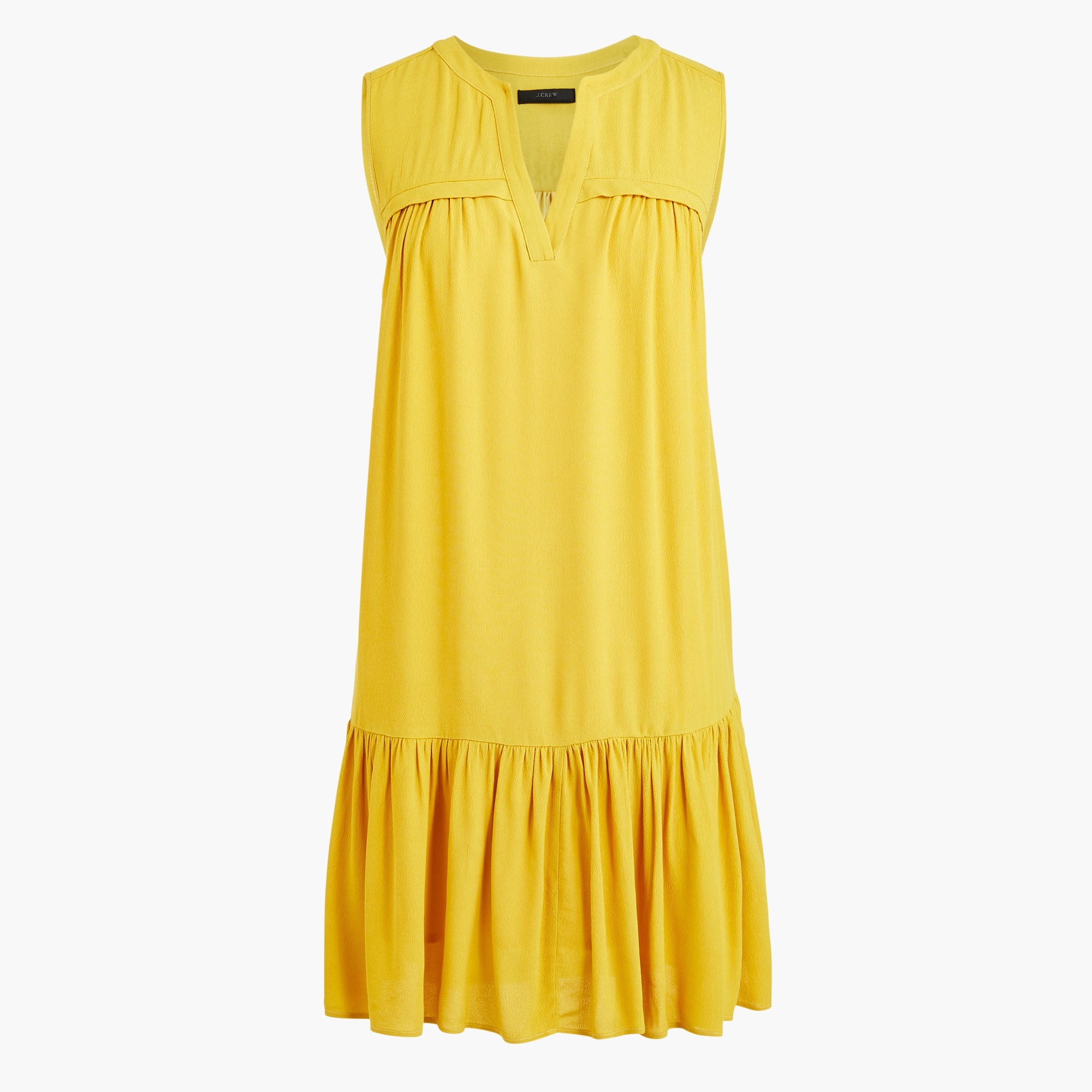 Image 1 for Tall ruffle-hem shift dress