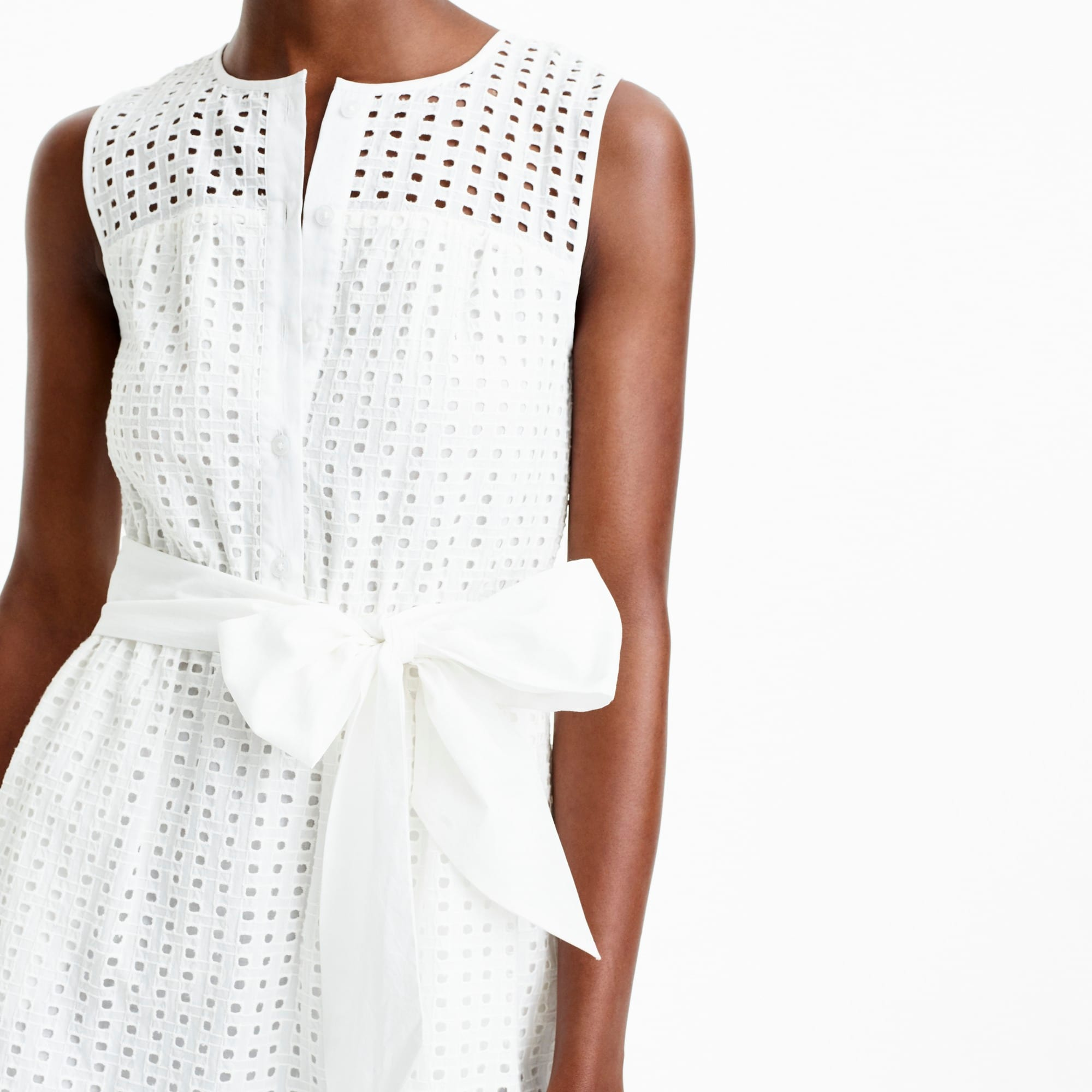 Image 2 for All-over eyelet dress